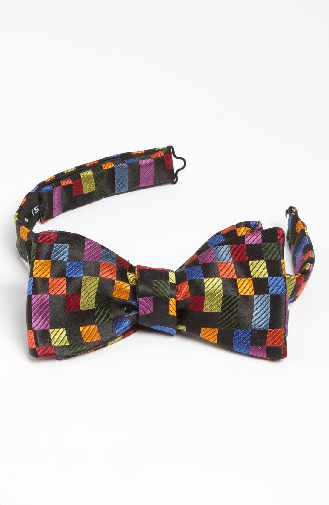 Alternate Image 1 Selected - Duchamp Silk Bow Tie