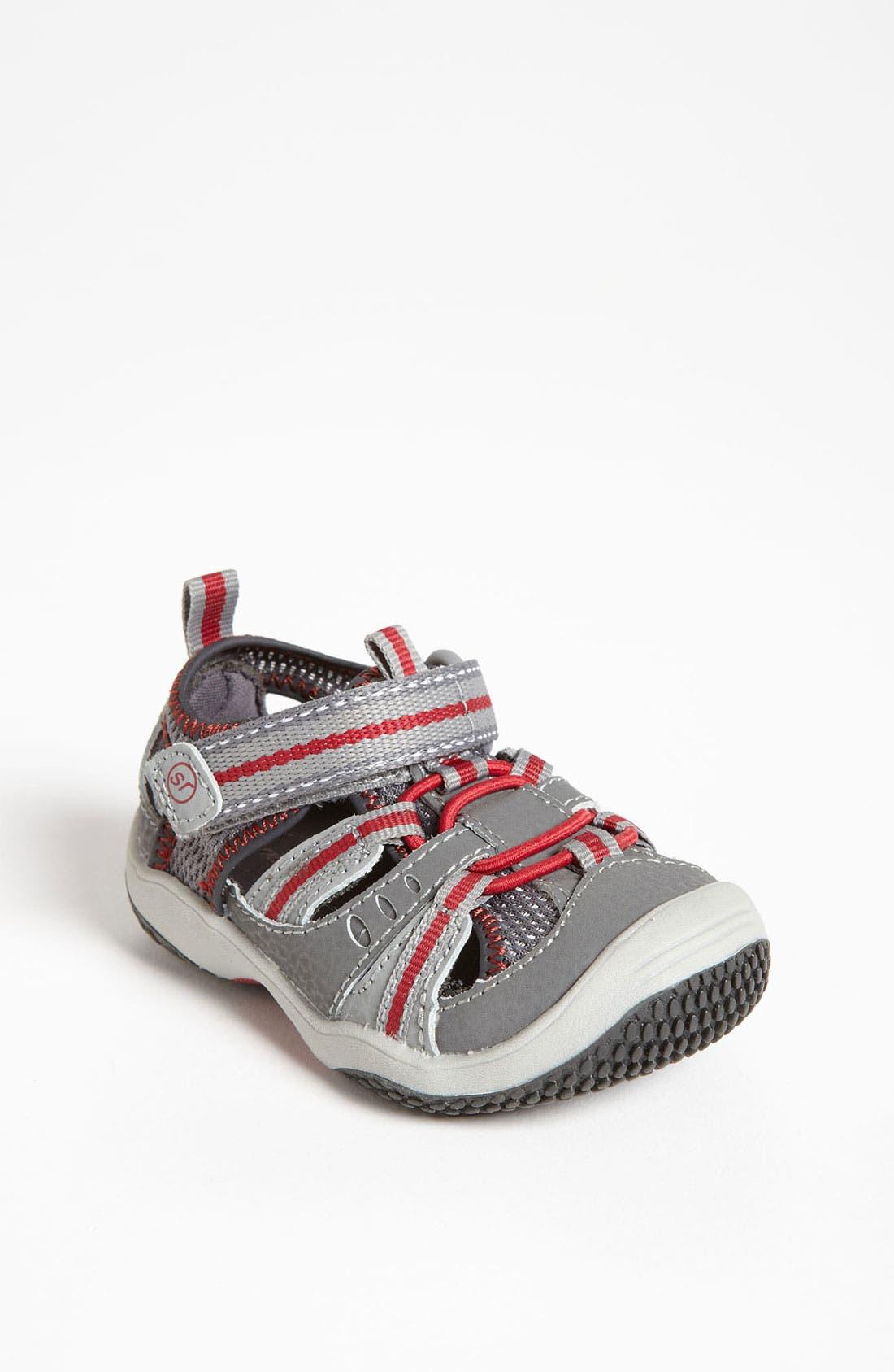 Alternate Image 1 Selected - Stride Rite 'Baby Riff' Sandal (Baby, Walker & Toddler)