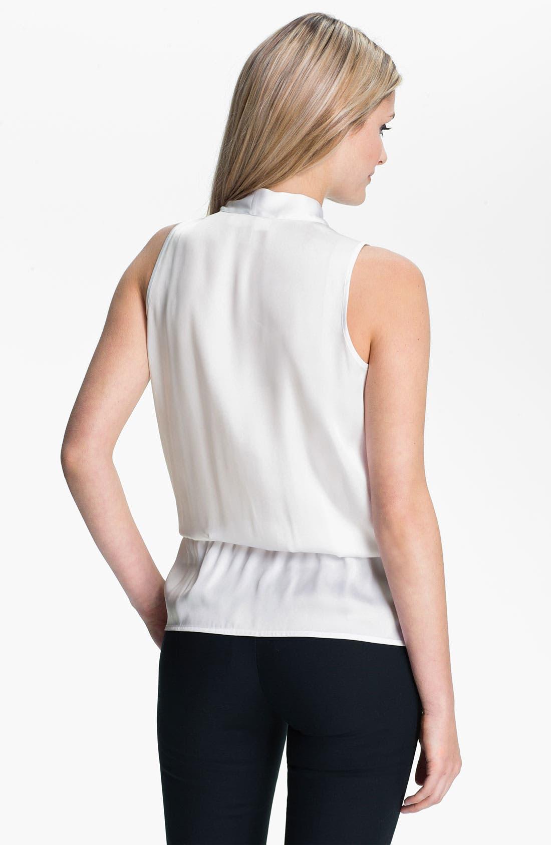 Alternate Image 2  - MICHAEL Michael Kors Faux Wrap Sleeveless Shirt