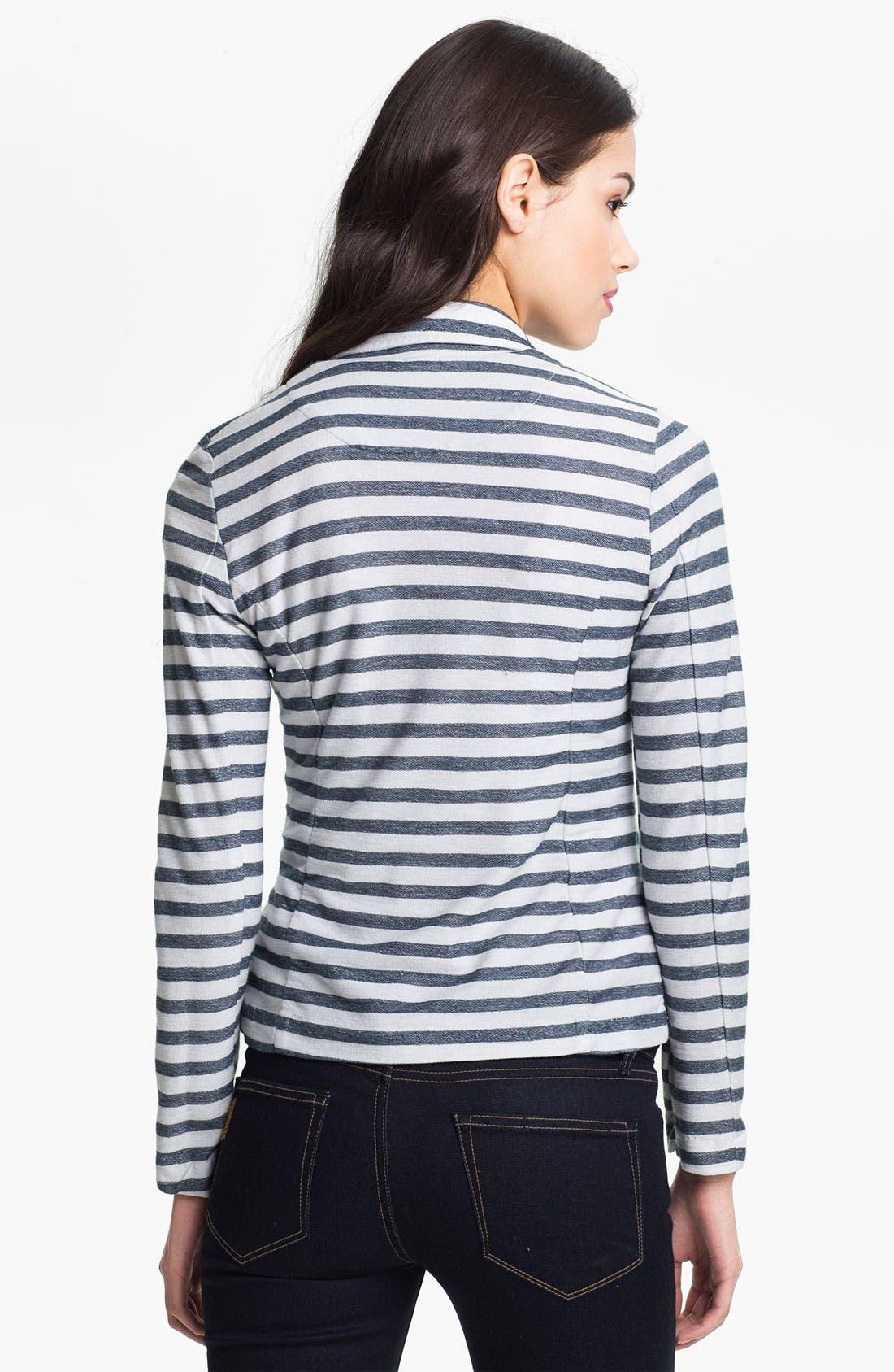 Alternate Image 2  - Splendid 'Nantucket' Stripe Blazer