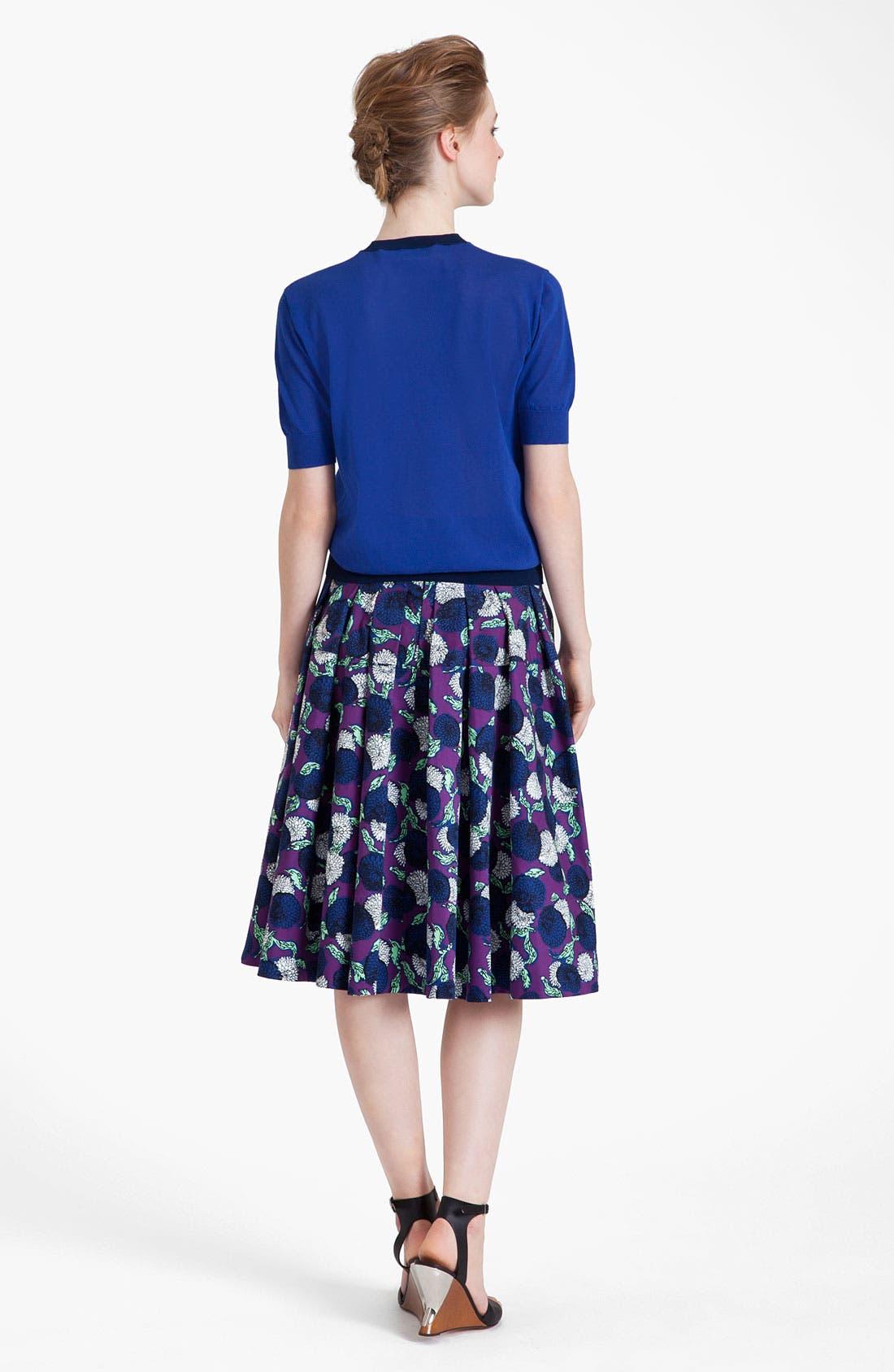 Alternate Image 3  - Marni Mum Print Gabardine Skirt