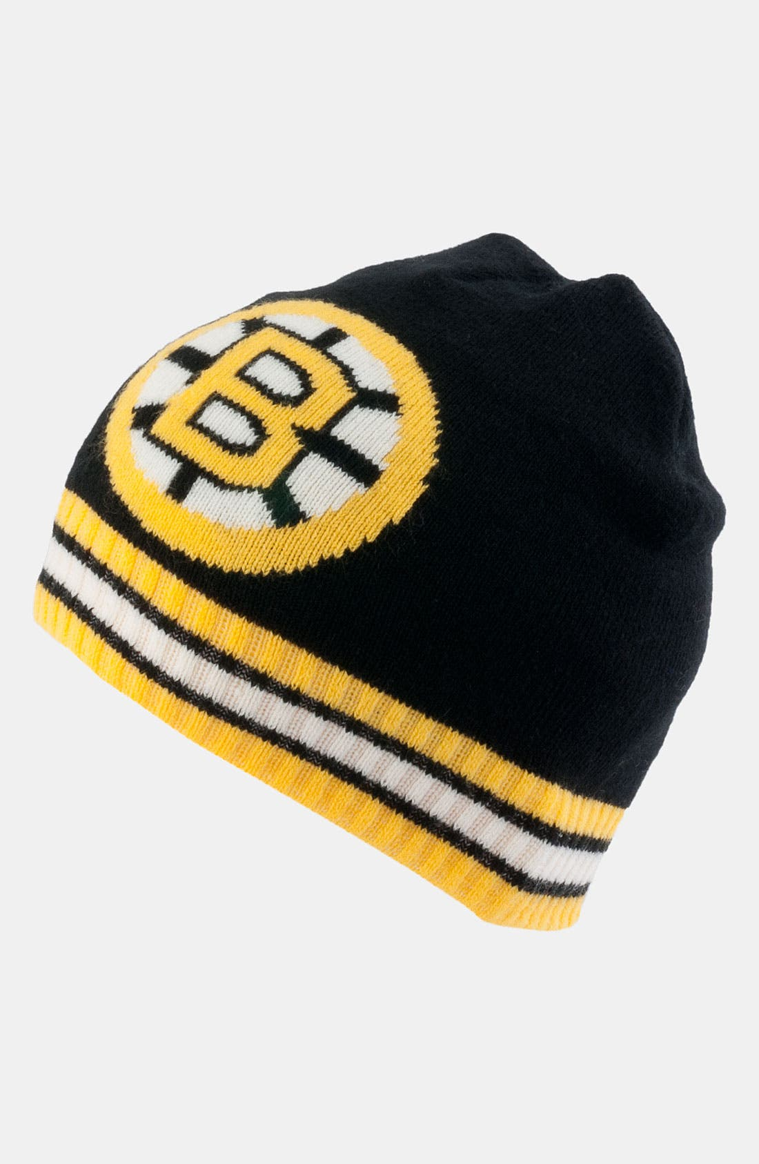 Alternate Image 1 Selected - American Needle 'Boston Bruins - Right Wing' Knit Hat