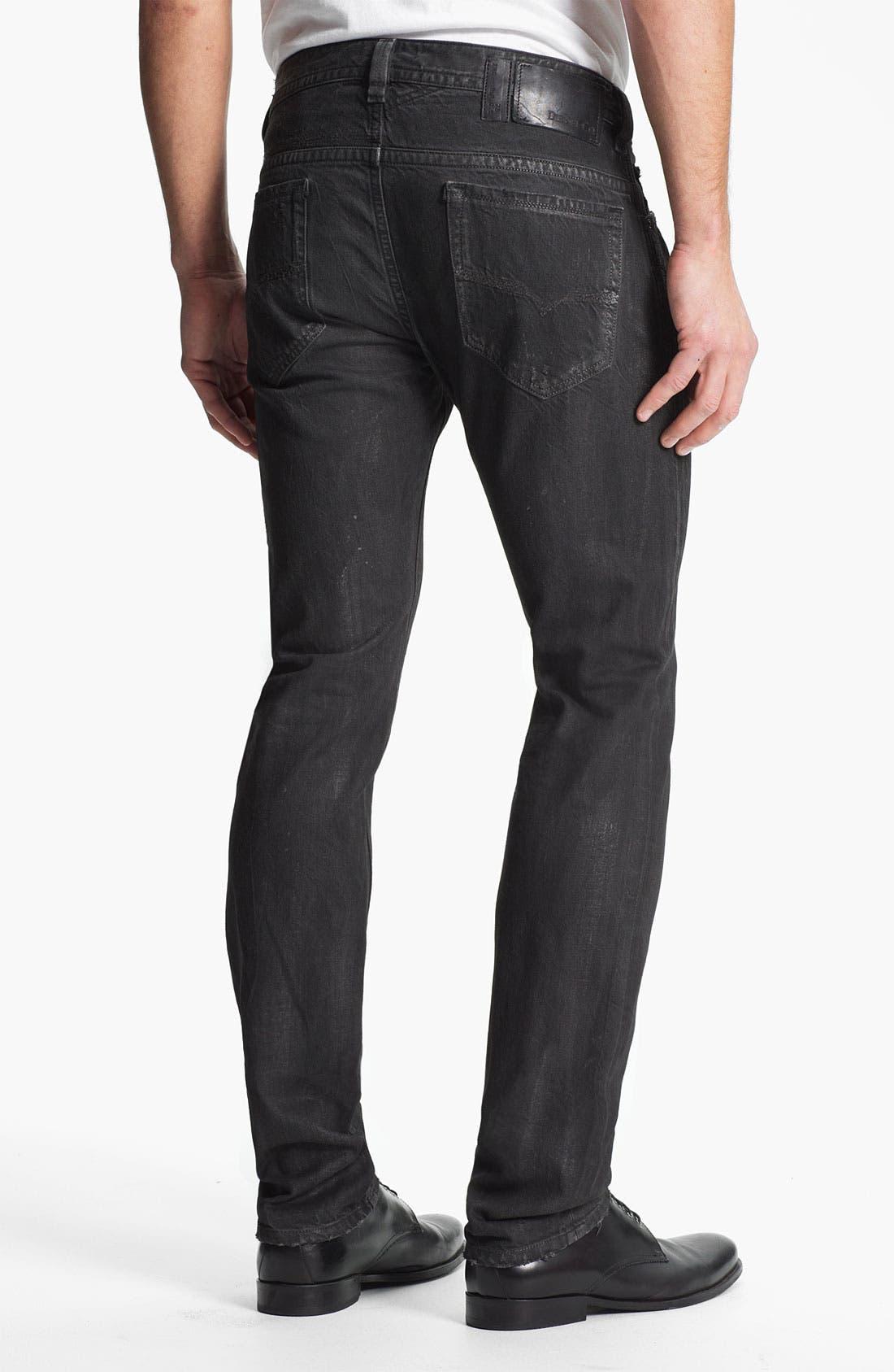 Alternate Image 1 Selected - DIESEL® 'Thavar' Slim Straight Leg Jeans