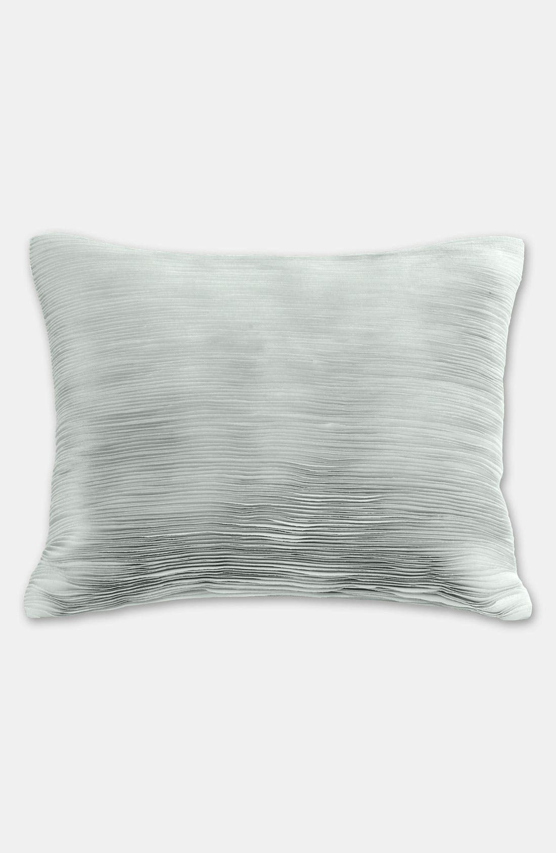Alternate Image 1 Selected - Donna Karan 'Layered' Sateen Pillow