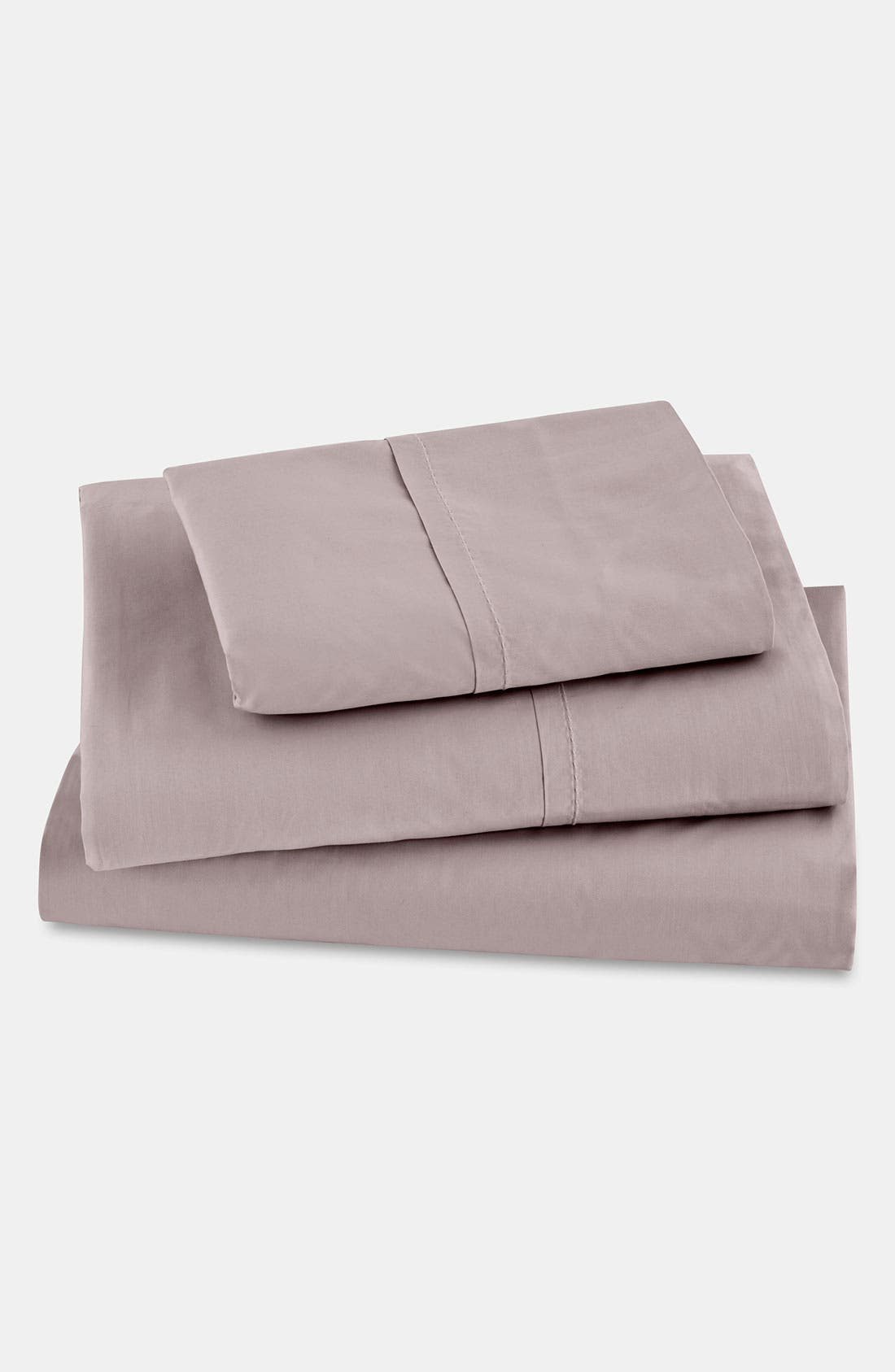 Alternate Image 1 Selected - Donna Karan 'The Essential' 410 Thread Count Fitted Sheet
