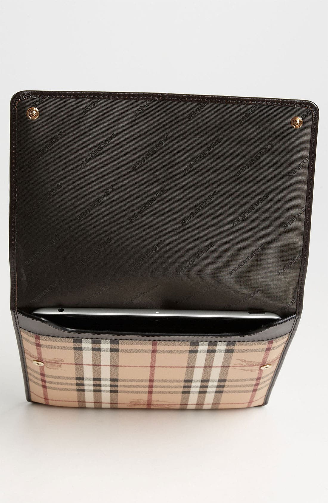 Alternate Image 3  - Burberry 'Haymarket Check' iPad Sleeve