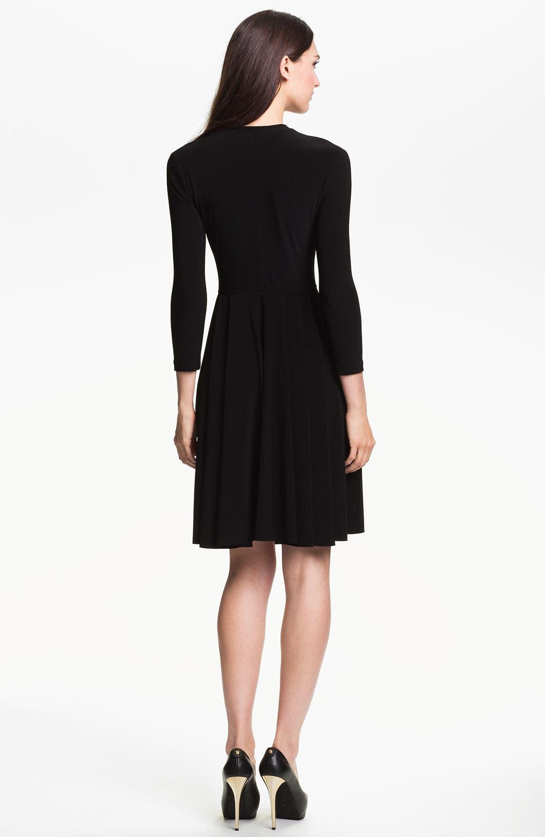 Alternate Image 2  - KAMALIKULTURE Crewneck Dress