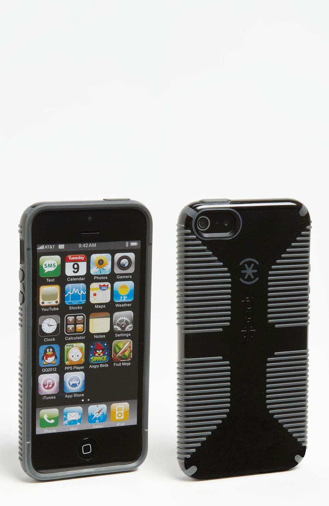 Alternate Image 1 Selected - Speck 'CandyShell™ Grip' iPhone 5 Case