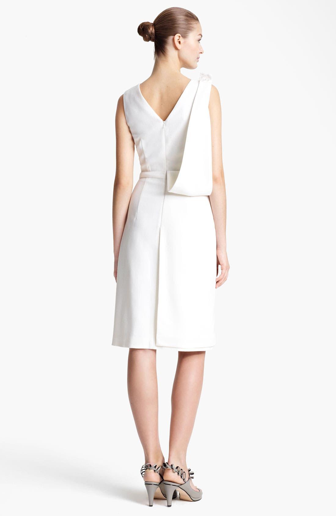 Alternate Image 2  - Christopher Kane Asymmetrical Drape Crepe Dress