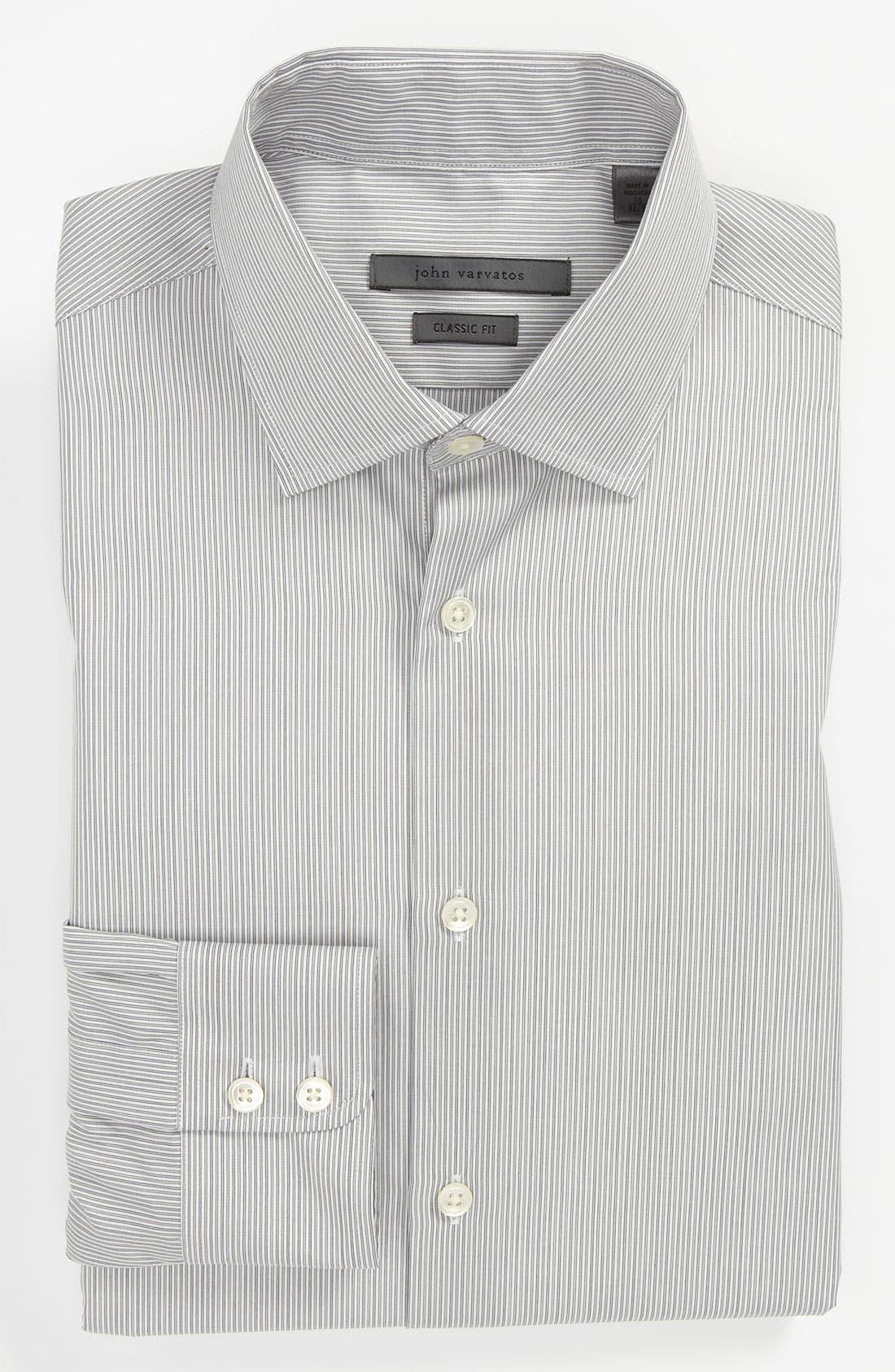 Alternate Image 1 Selected - John Varvatos Star USA Classic Fit Dress Shirt
