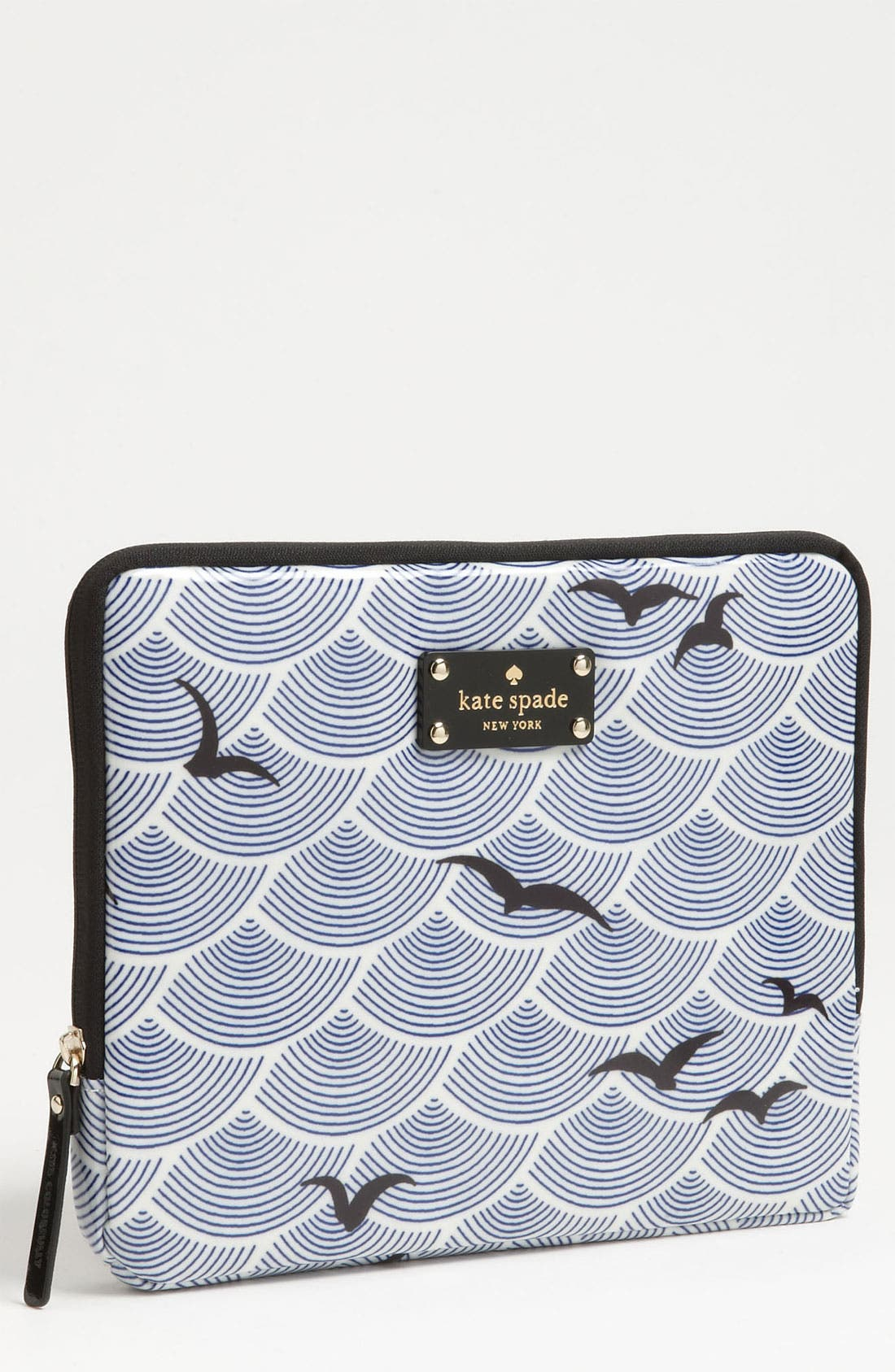 Alternate Image 1 Selected - kate spade new york 'birds over arches' iPad sleeve
