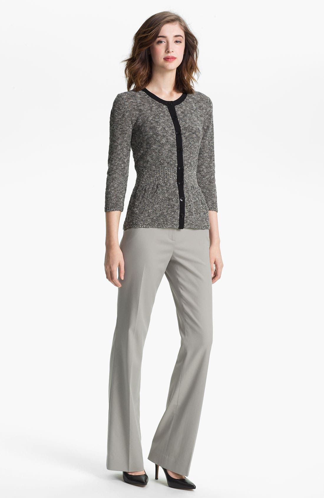 Alternate Image 4  - Classiques Entier® Stretch Wool Twill Pants