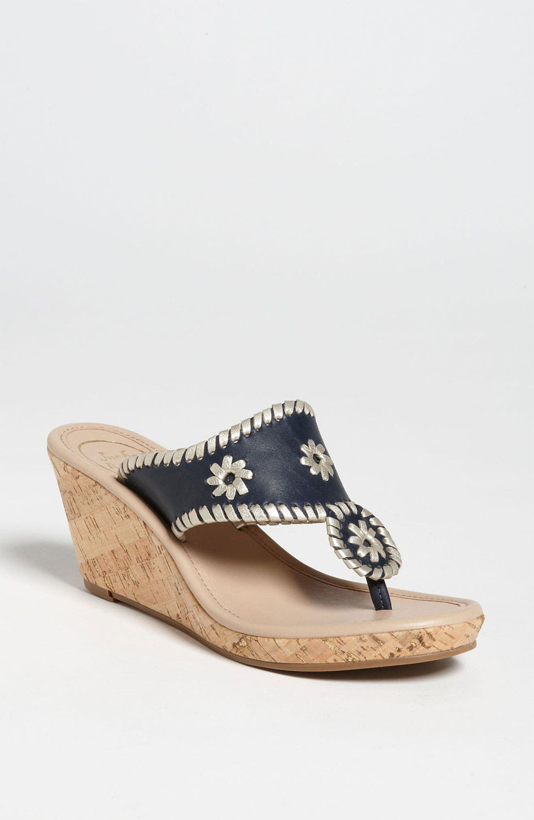 Alternate Image 1 Selected - Jack Rogers 'Marbella' Cork Wedge Sandal