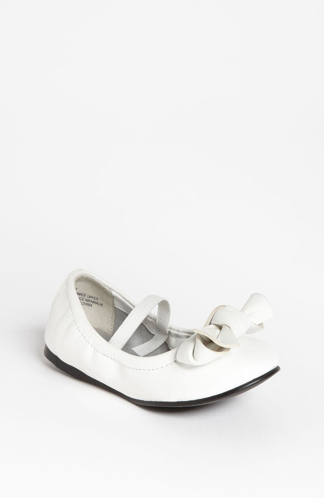 Alternate Image 1 Selected - Nordstrom 'Miranda' Flat (Walker, Toddler, Little Kid & Big Kid)