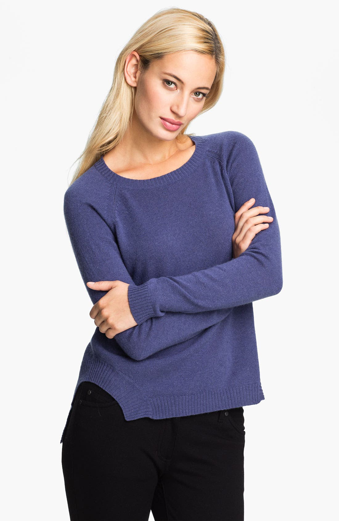 Alternate Image 1 Selected - Christopher Fischer 'Gisbelle' Cashmere Sweater (Online Exclusive)