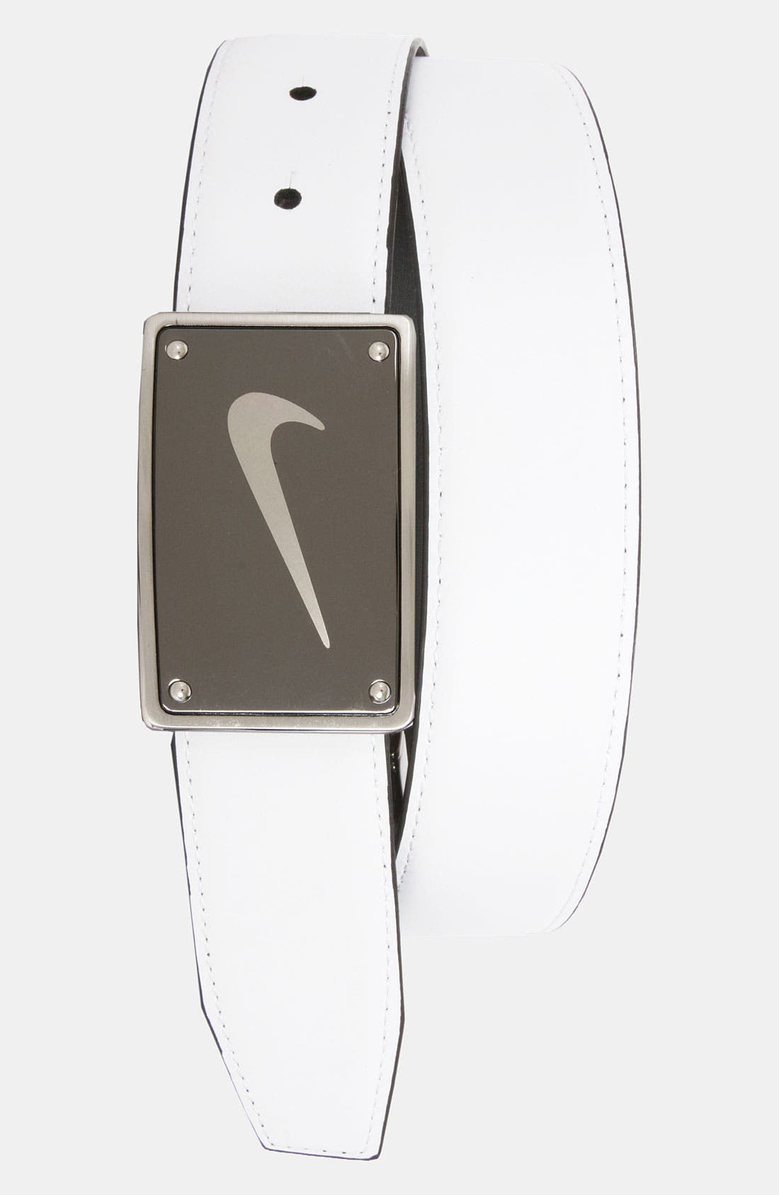 Alternate Image 2  - Nike Reversible Leather Belt