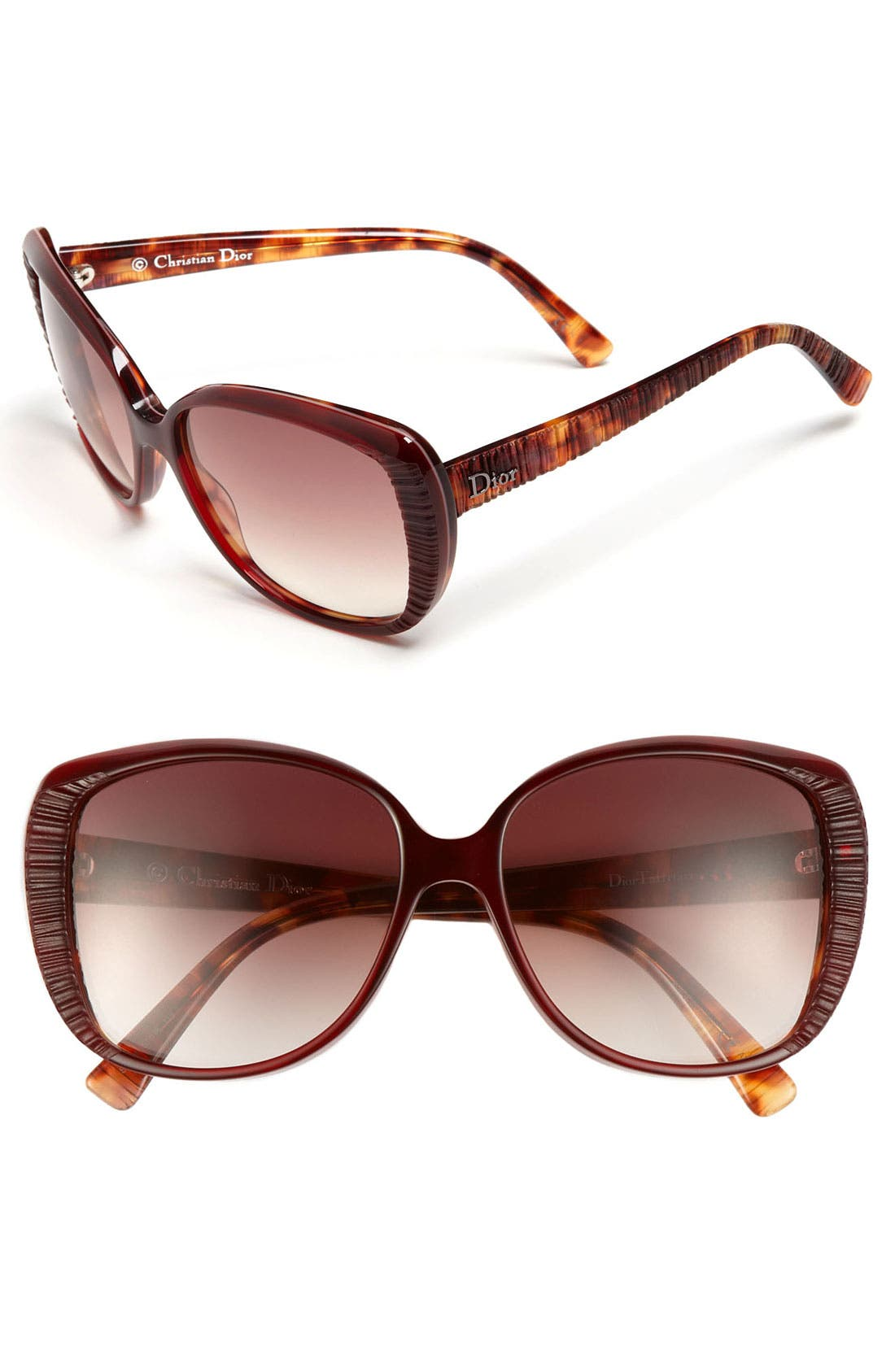 Main Image - Dior 'Taffetas 2' 57mm Sunglasses