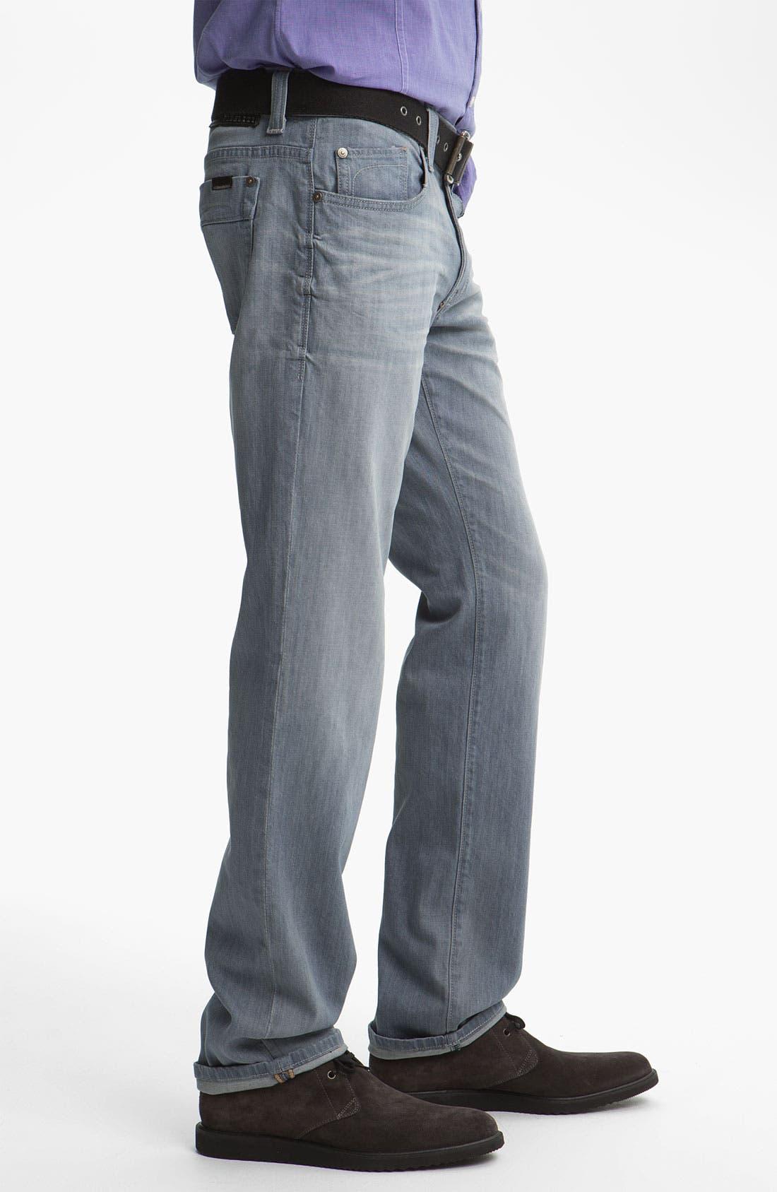 Alternate Image 3  - Fidelity Denim 'Impala' Straight Leg Jeans (Voodoo Ghost)
