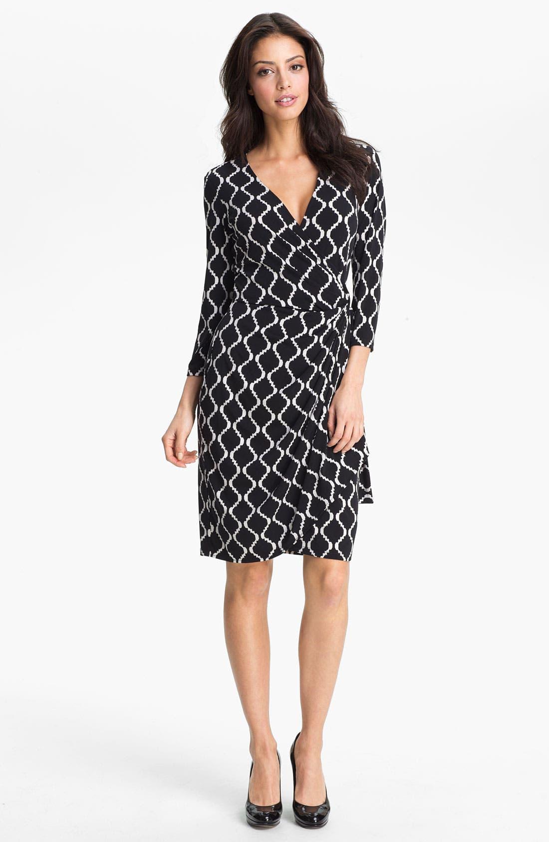 Alternate Image 1 Selected - Maggy London Print Wrap Dress
