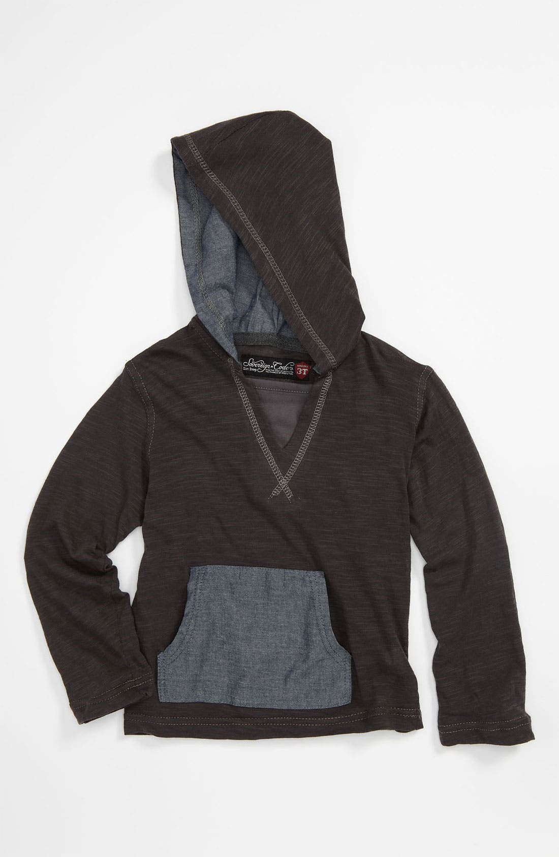 Alternate Image 1 Selected - Sovereign Code Chambray Hoodie (Toddler)