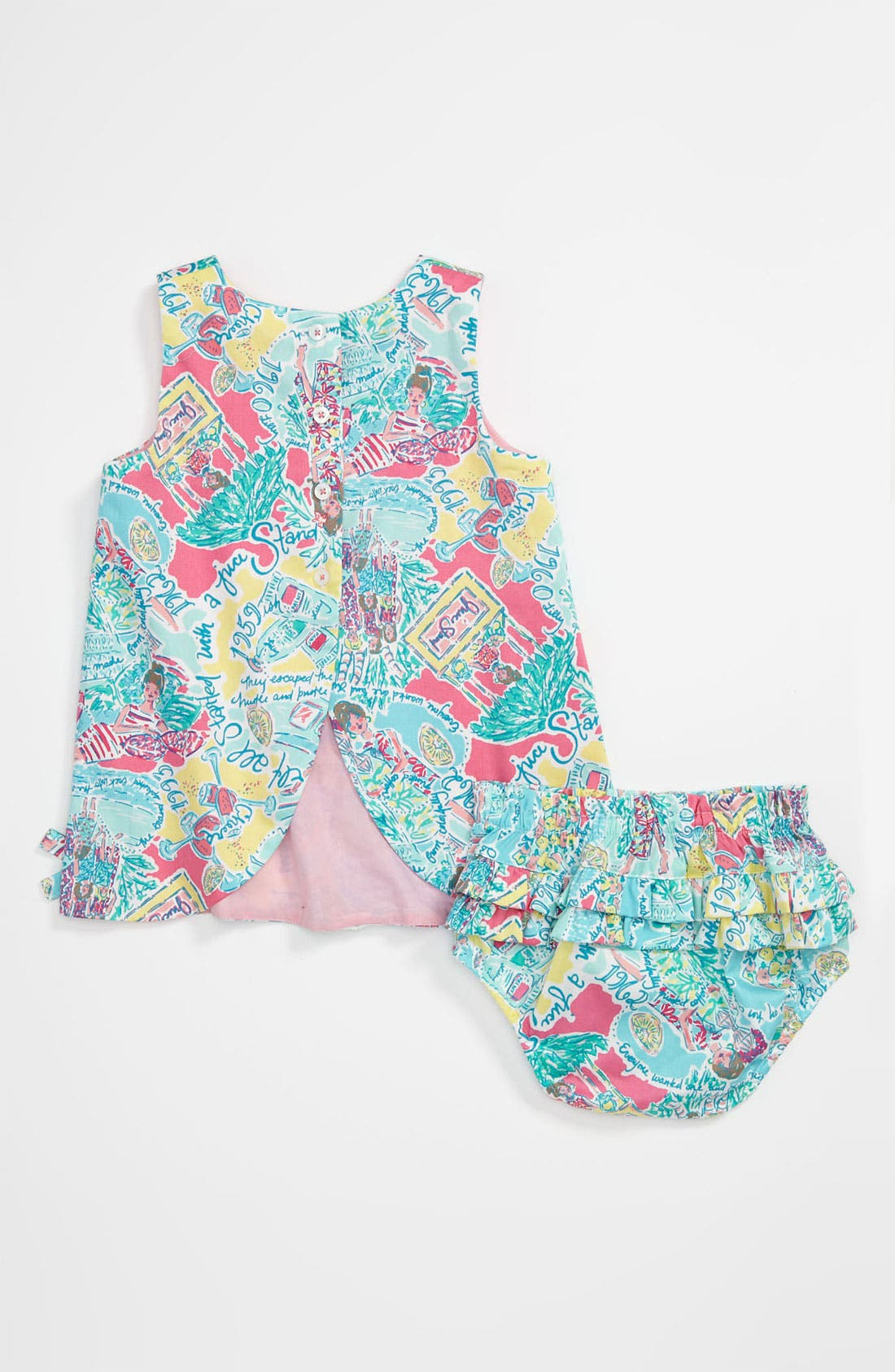 Alternate Image 2  - Lilly Pulitzer® 'Baby Lilly' Shift Dress (Infant)