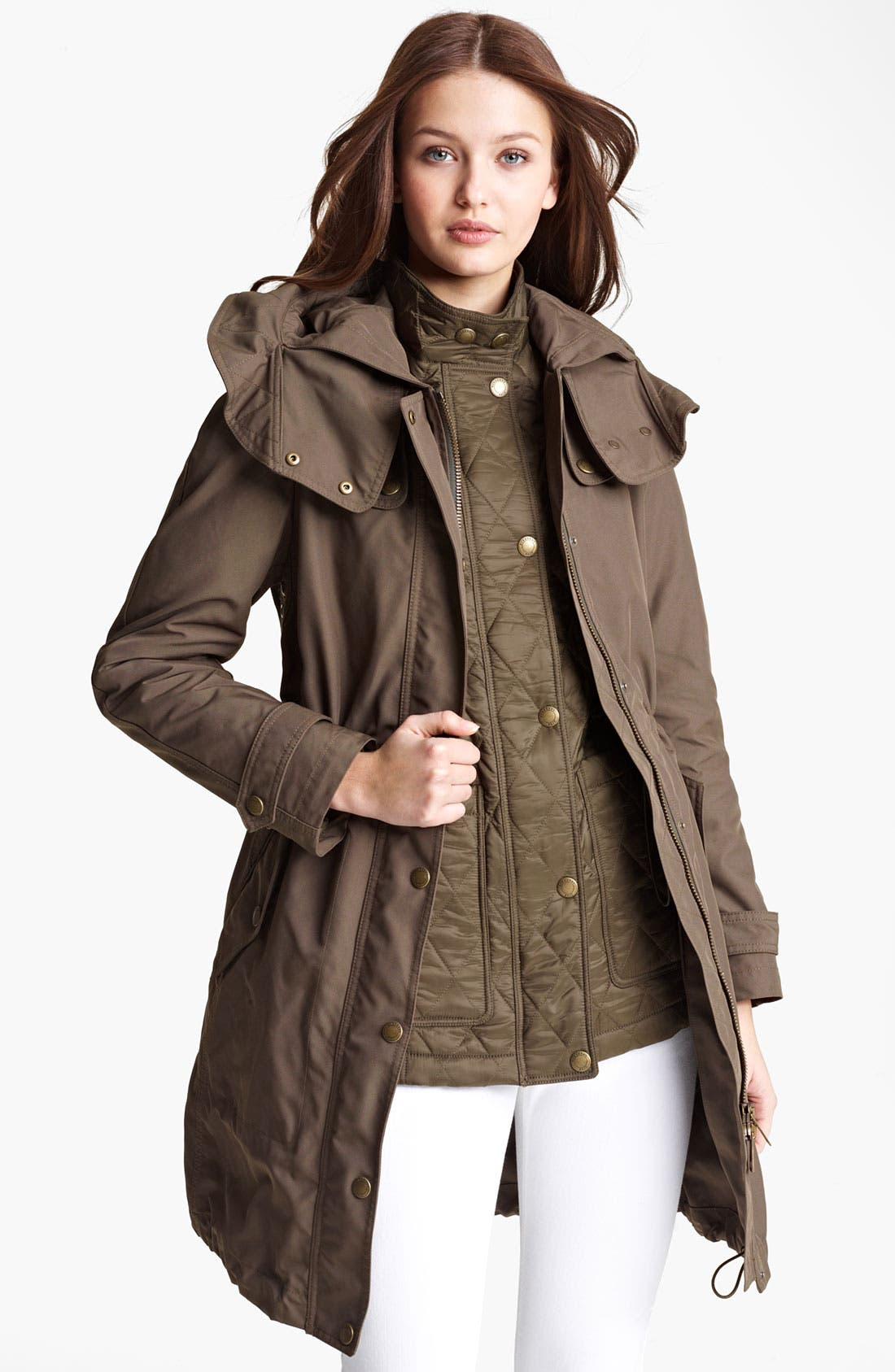 Alternate Image 1 Selected - Burberry Brit 'Camberford' Anorak