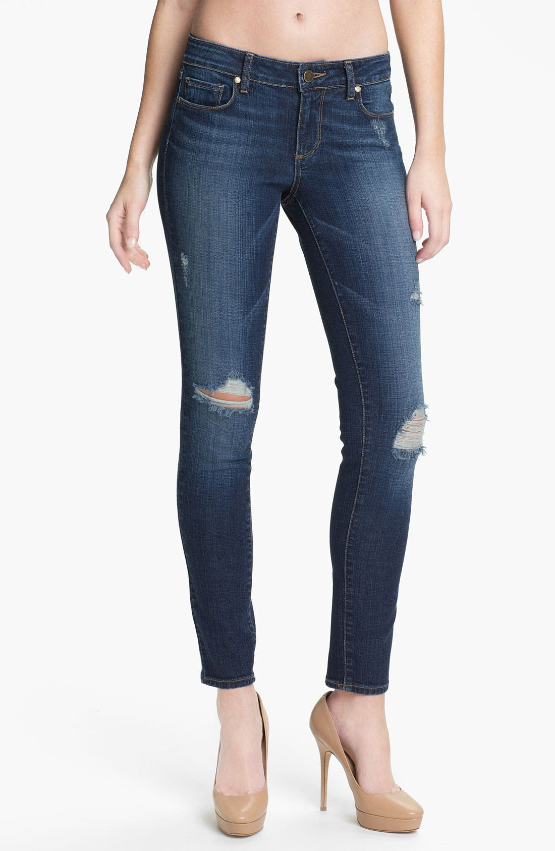 Main Image - Paige Denim 'Verdugo' Stretch Skinny Jeans (Decker)