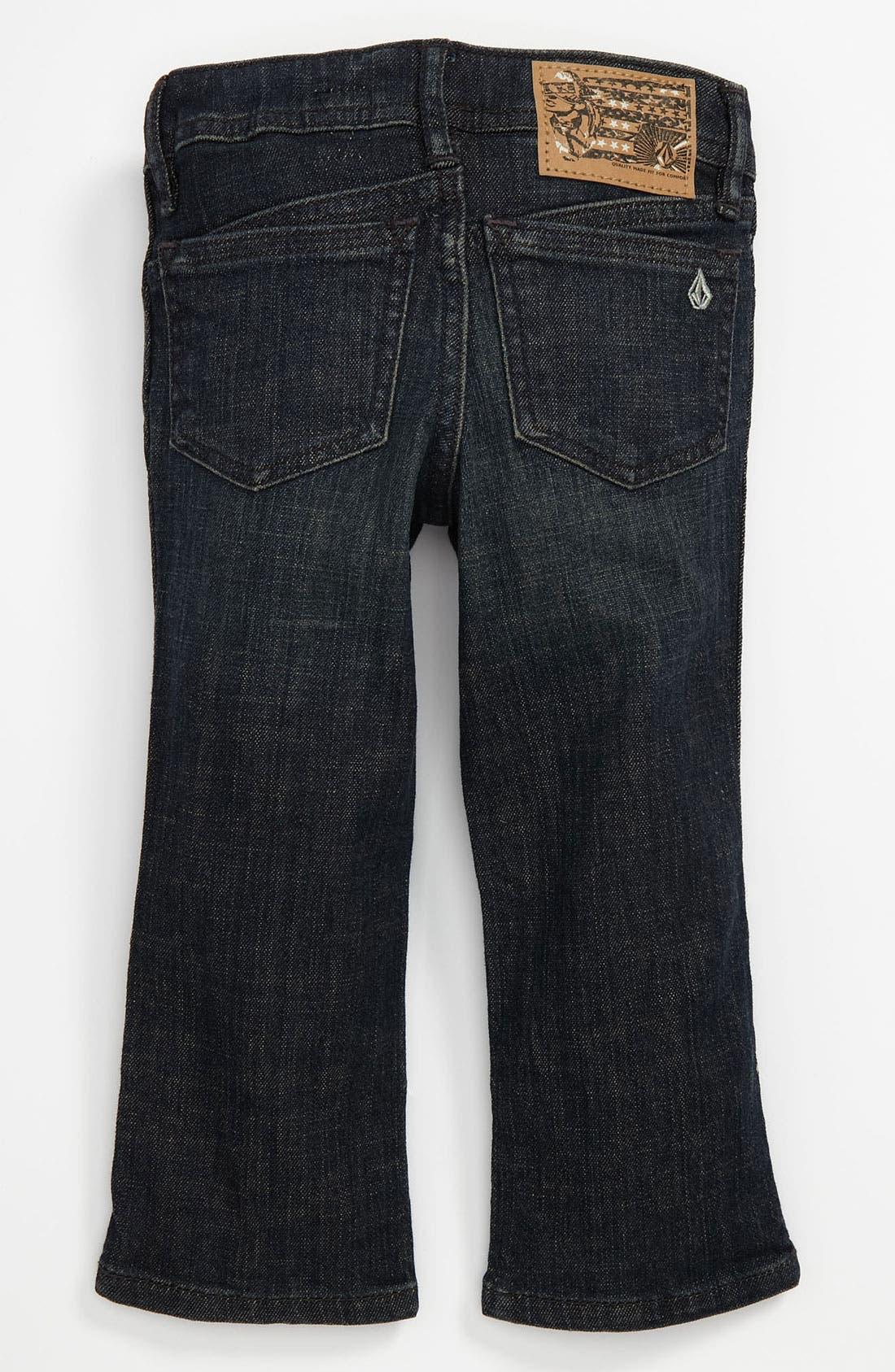 Alternate Image 1 Selected - Volcom '2x4' Jeans (Toddler)
