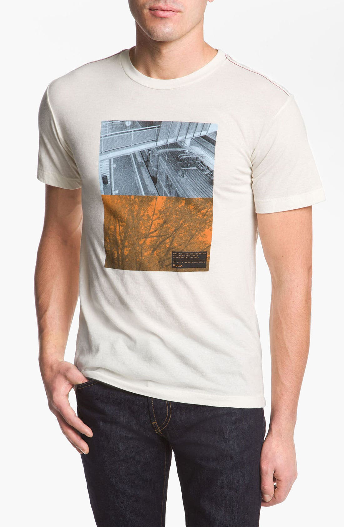 Alternate Image 1 Selected - RVCA 'Balance Stack' T-Shirt