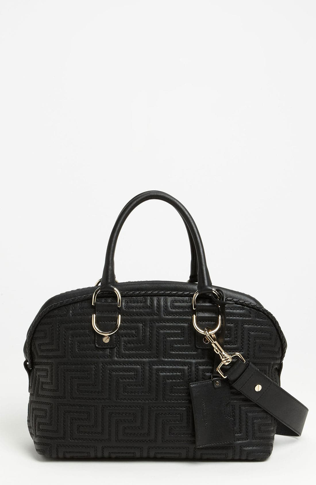 Alternate Image 1 Selected - Versace 'Couture' Leather Bowler