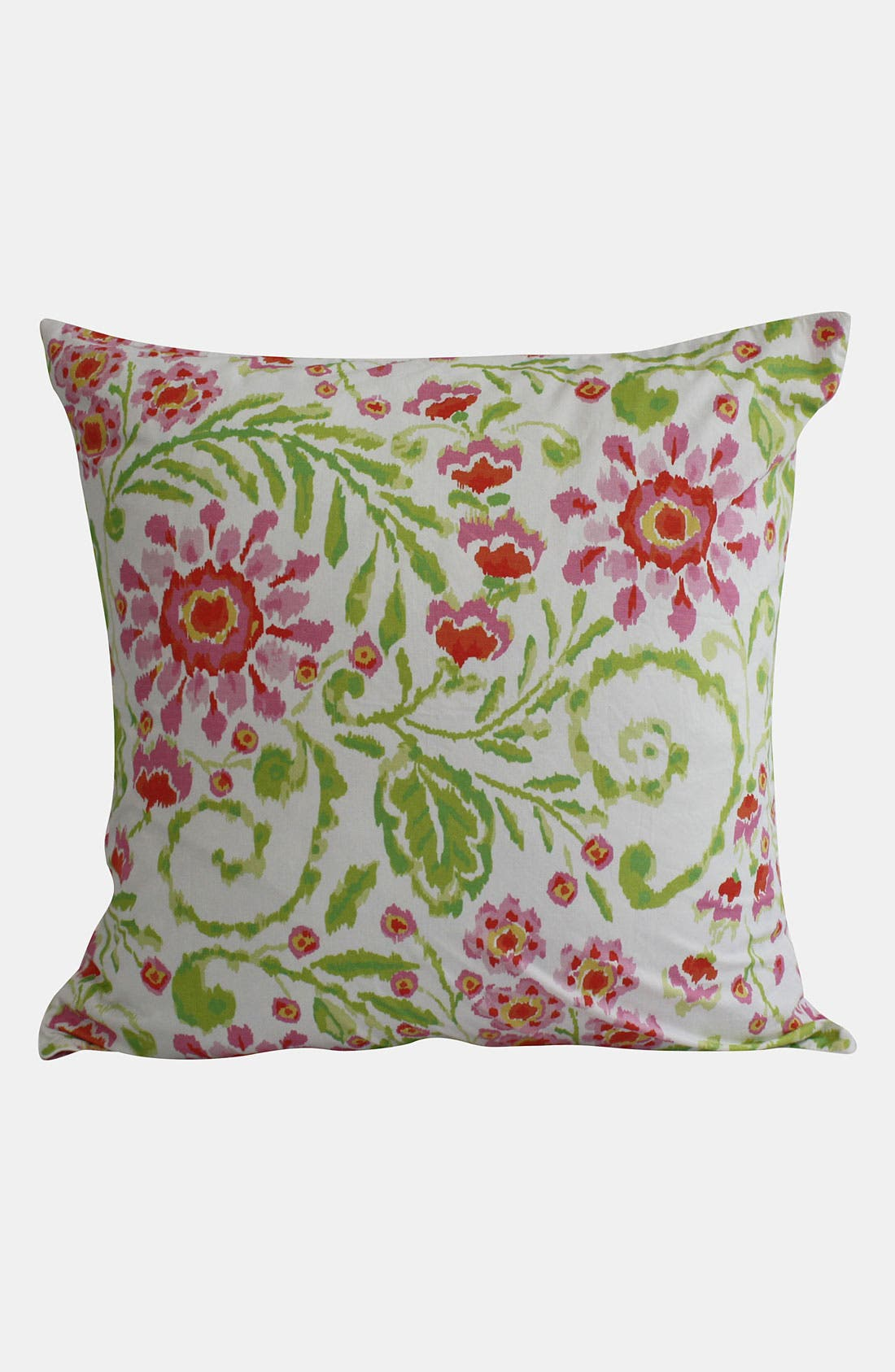 Alternate Image 1 Selected - Dena Home 'Ikat Blossom' Euro Pillow Sham