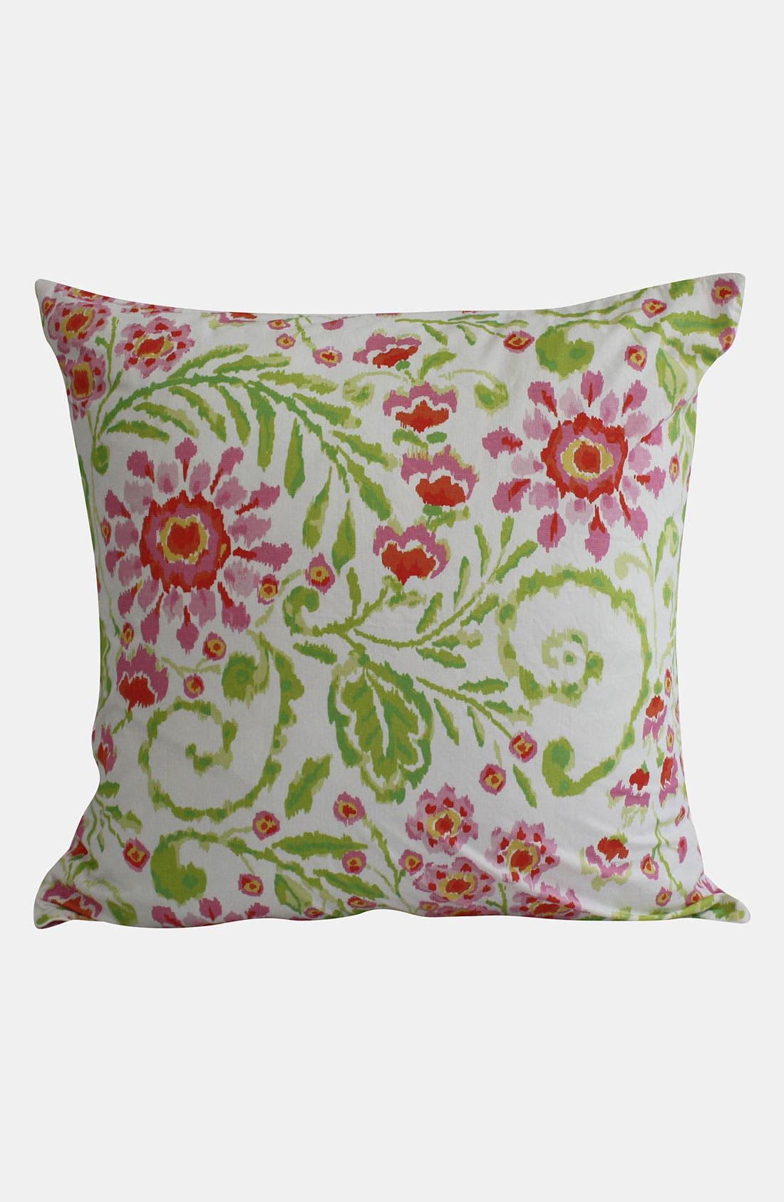 Main Image - Dena Home 'Ikat Blossom' Euro Pillow Sham