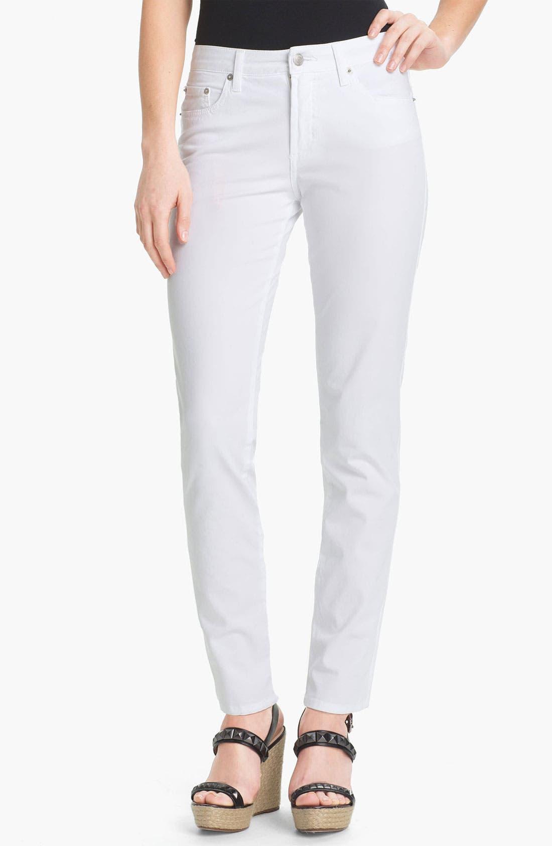 Main Image - Fabrizio Gianni 5-Pocket Slim Stretch Jeans (Online Only)