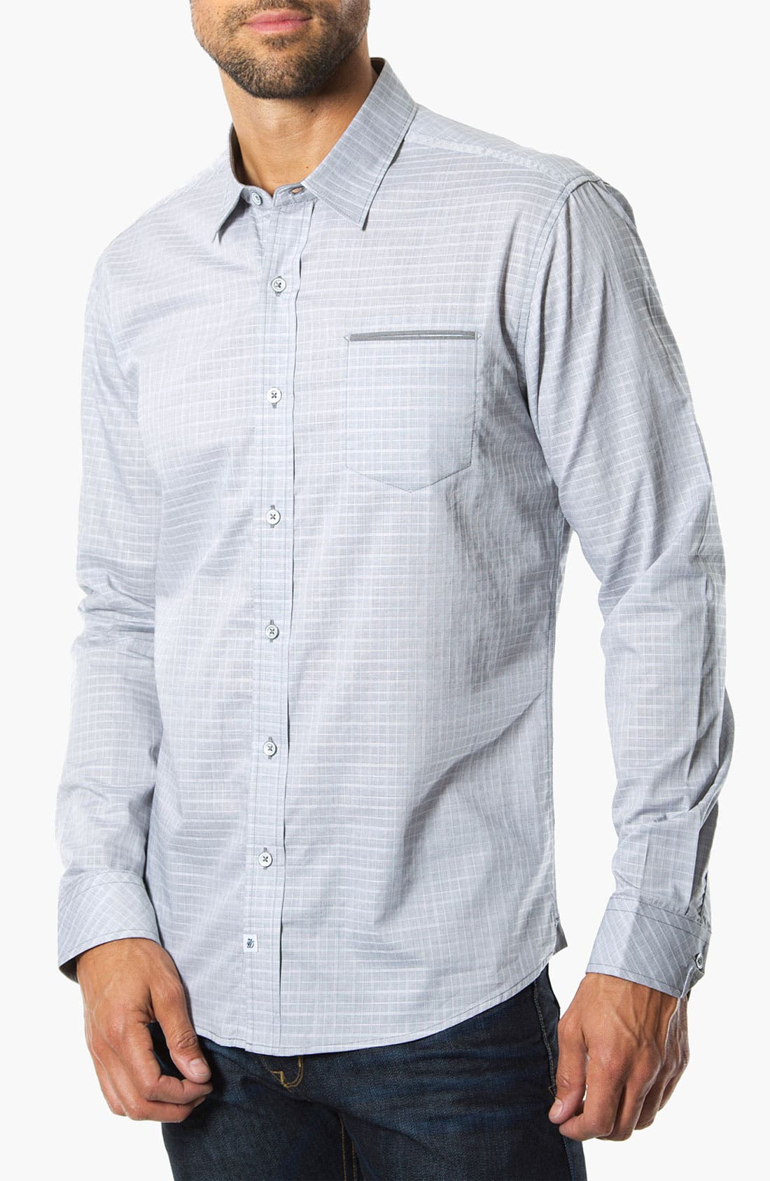 Main Image - 7 Diamonds 'We Own The Night' Woven Sport Shirt