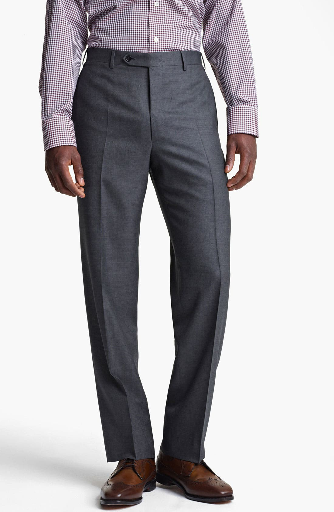 Alternate Image 4  - Canali Wool Blend Suit