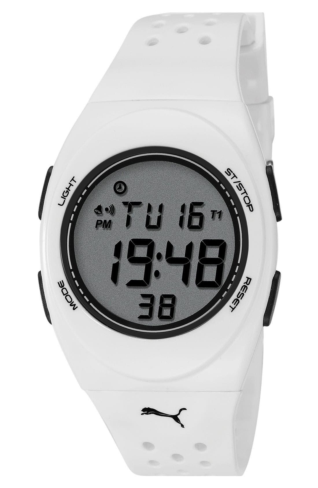Alternate Image 1 Selected - PUMA 'Faas 250' Digital Sport Watch, 38mm