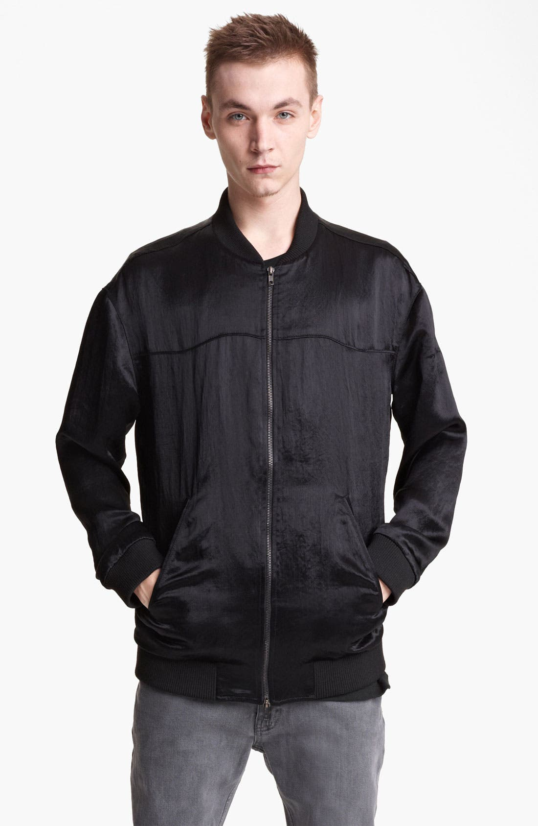 Alternate Image 1 Selected - BLK DNM Nylon Bomber Jacket