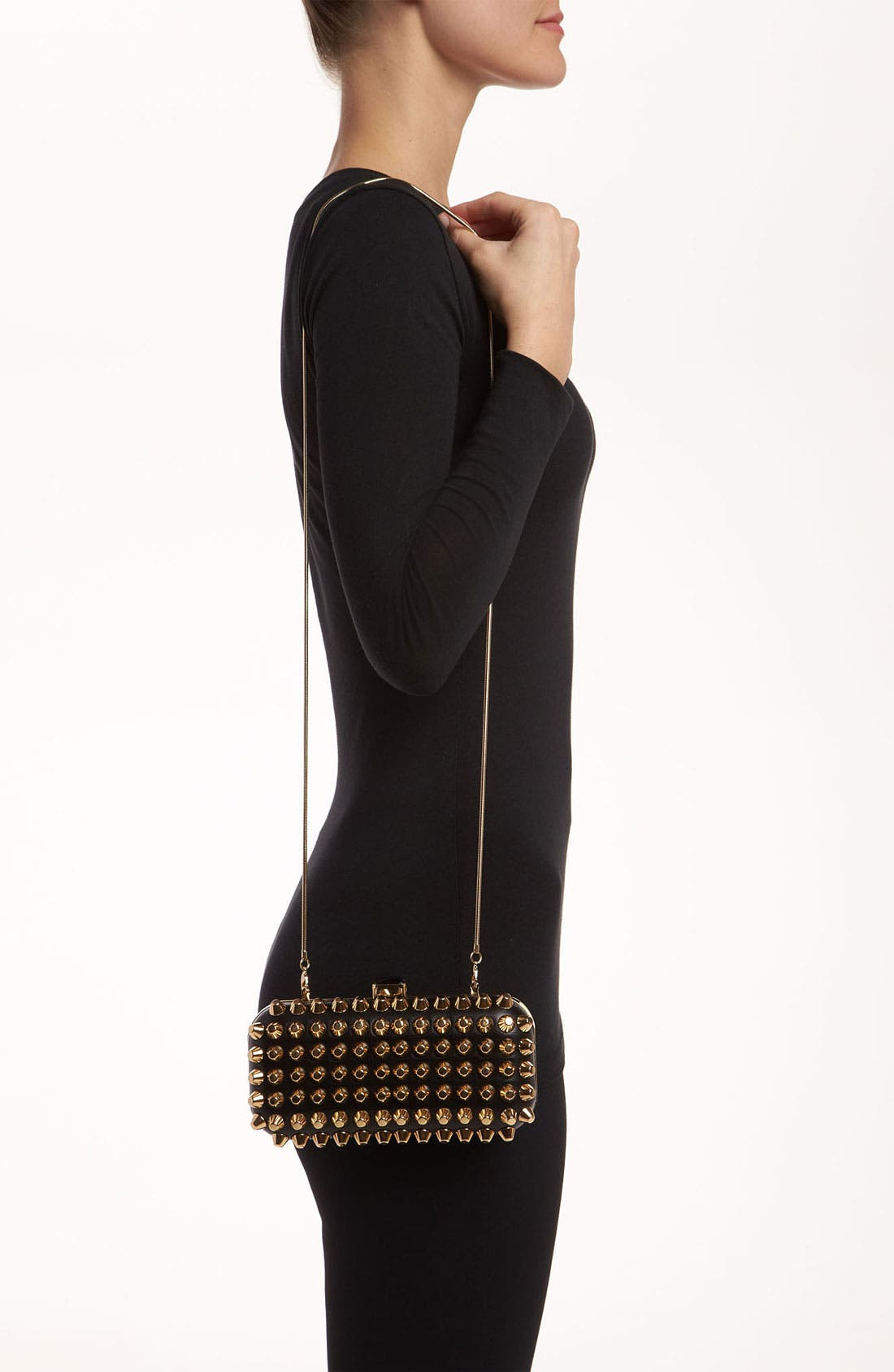 Alternate Image 2  - Natasha Couture Studded Clutch