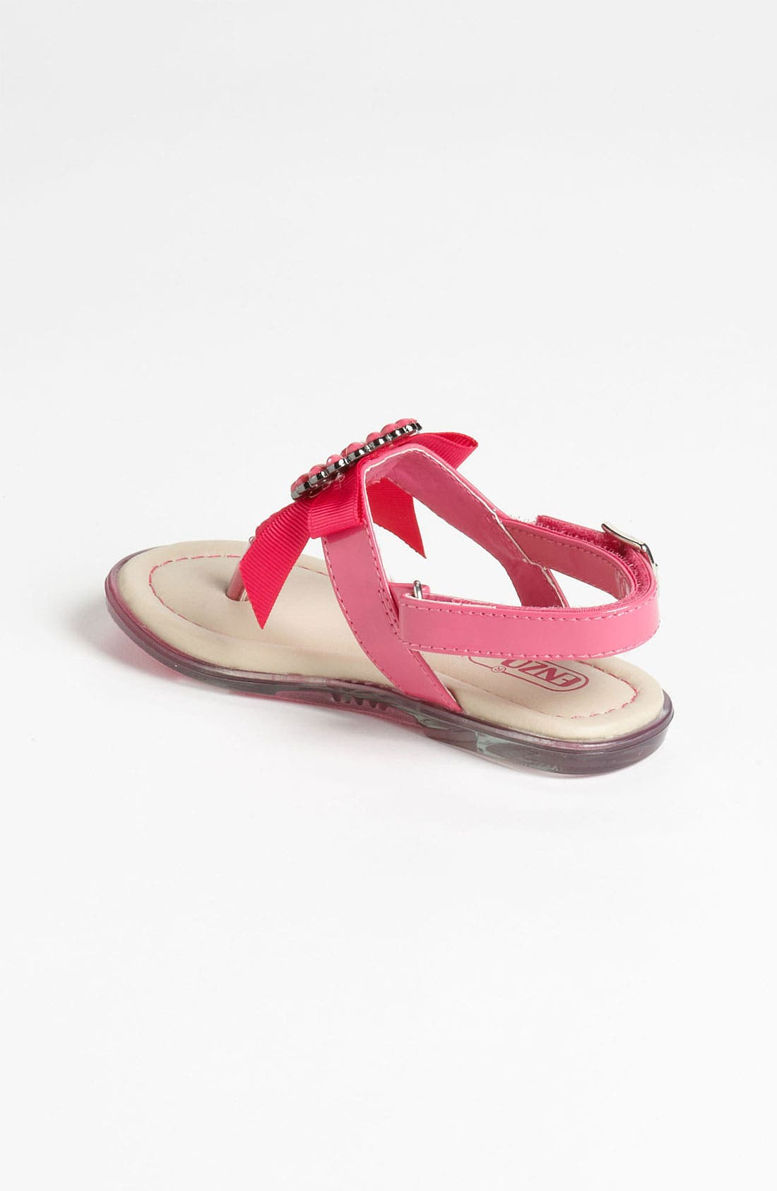 Alternate Image 2  - Enzo 'Kristina' Bow Sandal (Toddler)