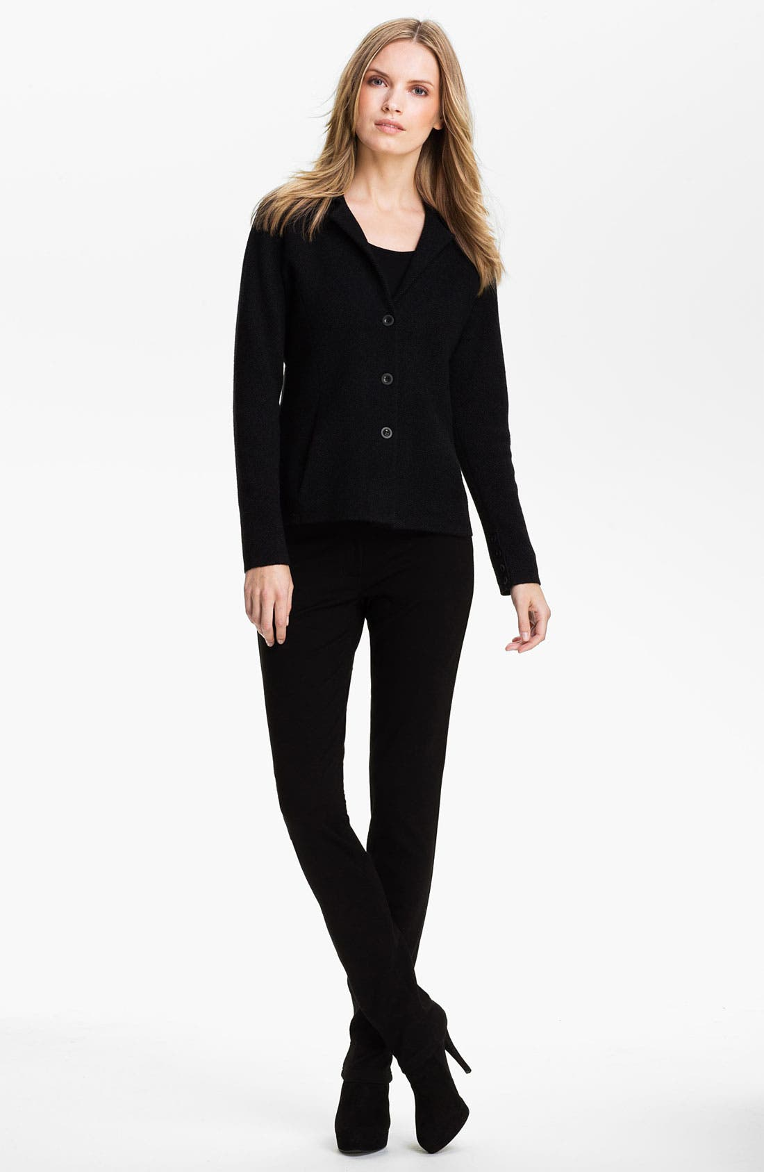 Alternate Image 4  - Eileen Fisher Notch Collar Jacket (Petite)