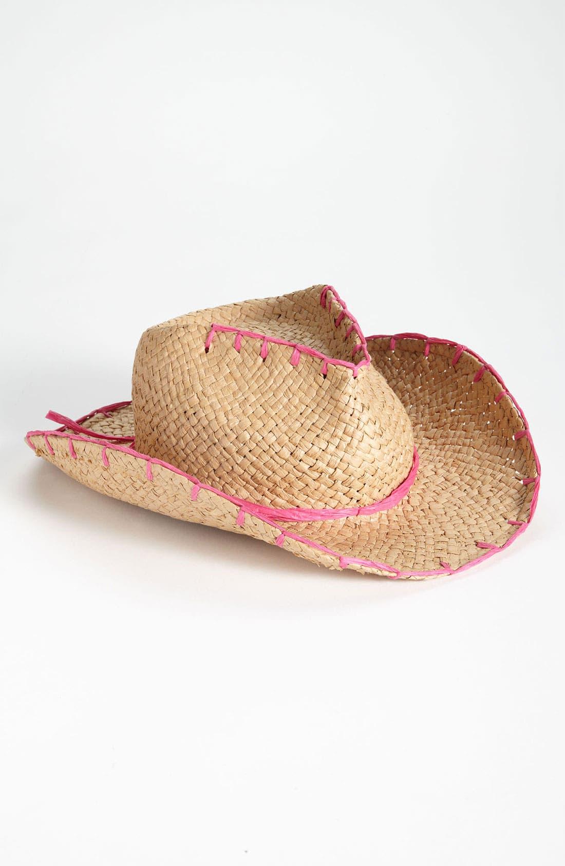 Alternate Image 1 Selected - San Diego Hat Cowboy Hat (Girls)