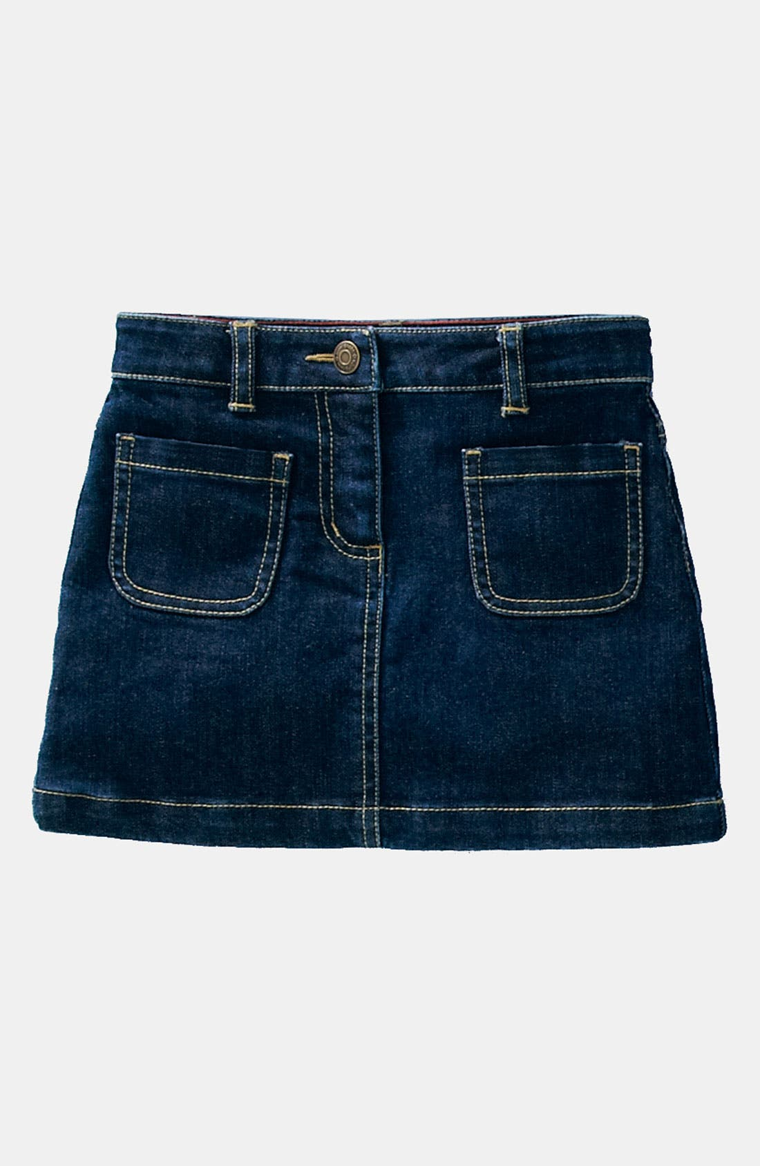 Main Image - Mini Boden 'Patch Pocket' Skirt (Little Girls & Big Girls)