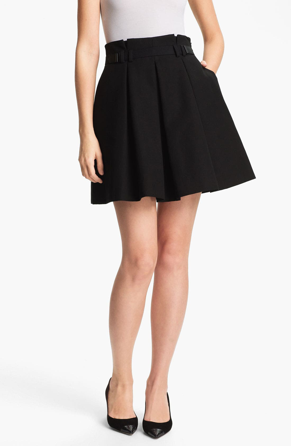 Main Image - Miss Wu Pleated Skirt (Nordstrom Exclusive)
