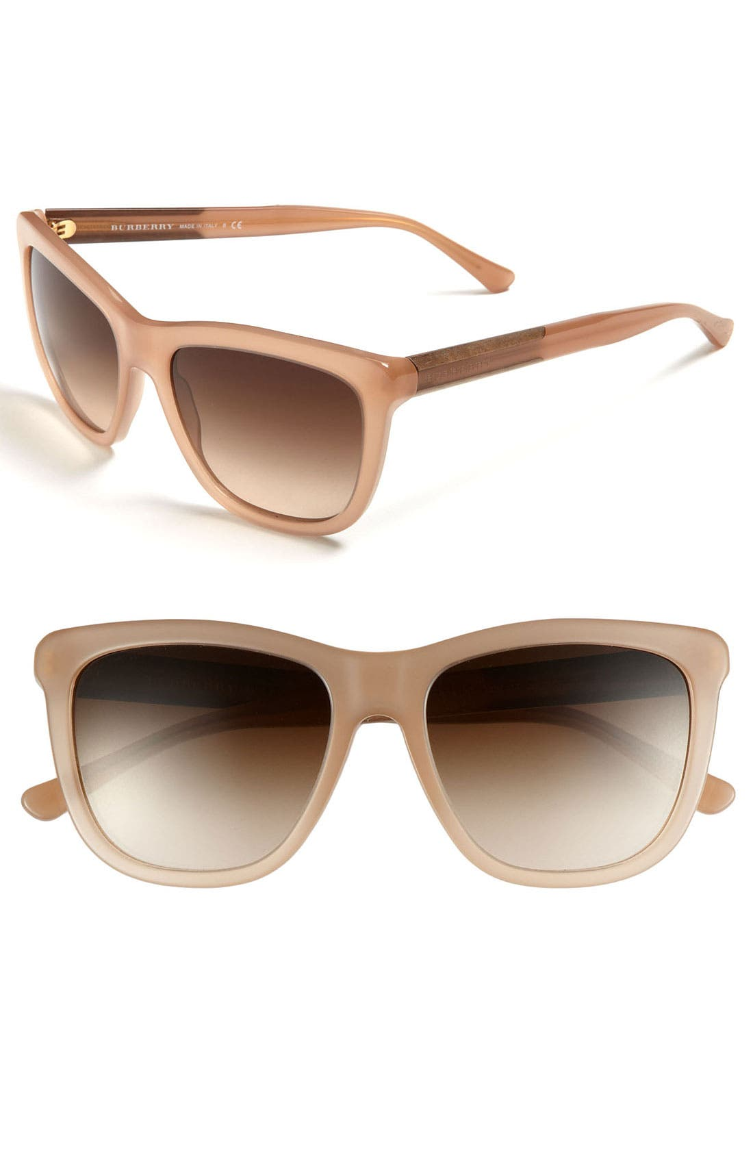 Alternate Image 1 Selected - Burberry 55mm Cat Eye Sunglasses
