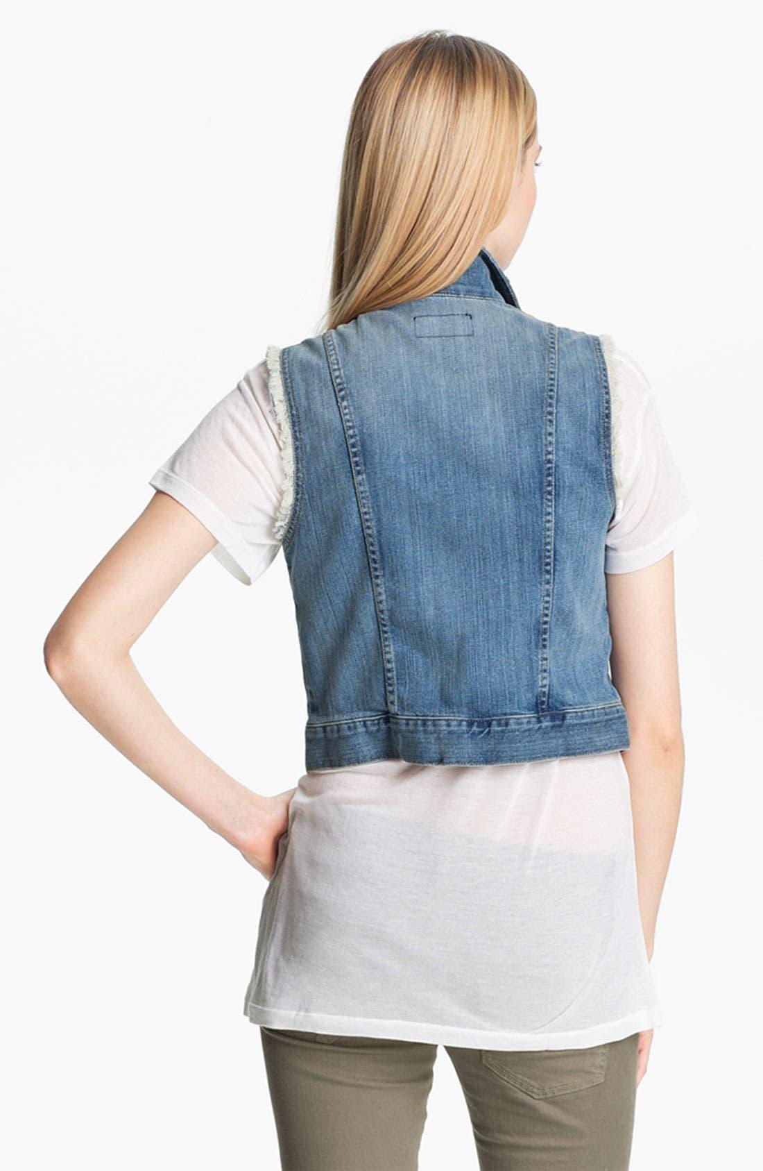 Alternate Image 3  - Current/Elliott Denim Vest