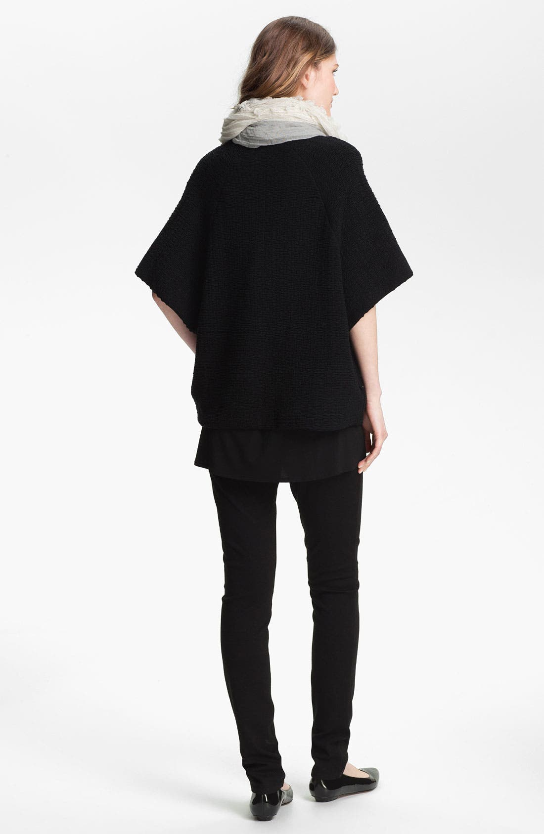 Alternate Image 4  - Eileen Fisher Stand Collar Jacket (Online Only)