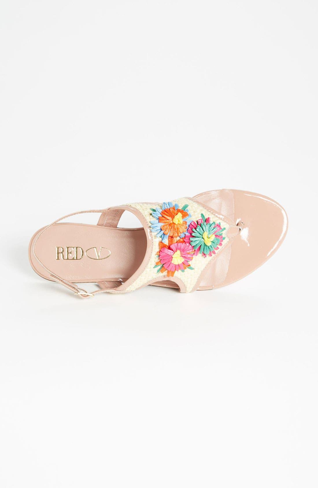 Alternate Image 3  - RED Valentino Embroidered Sandal