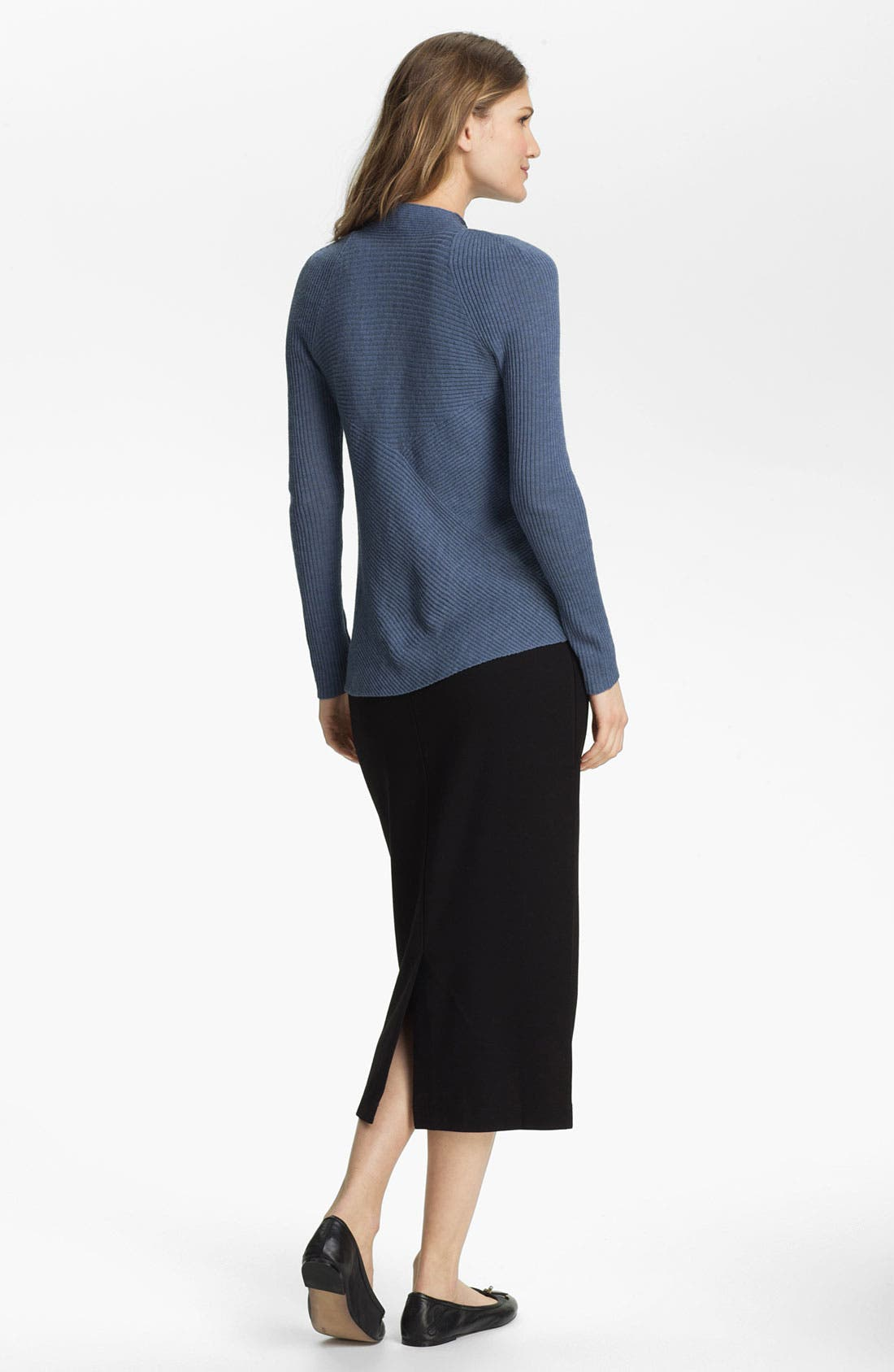 Alternate Image 5  - Eileen Fisher Pull-On Pencil Skirt