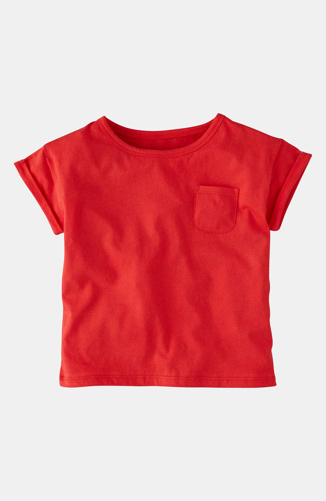 Alternate Image 1 Selected - Mini Boden 'Slouchy' Tee (Little Girls & Big Girls)