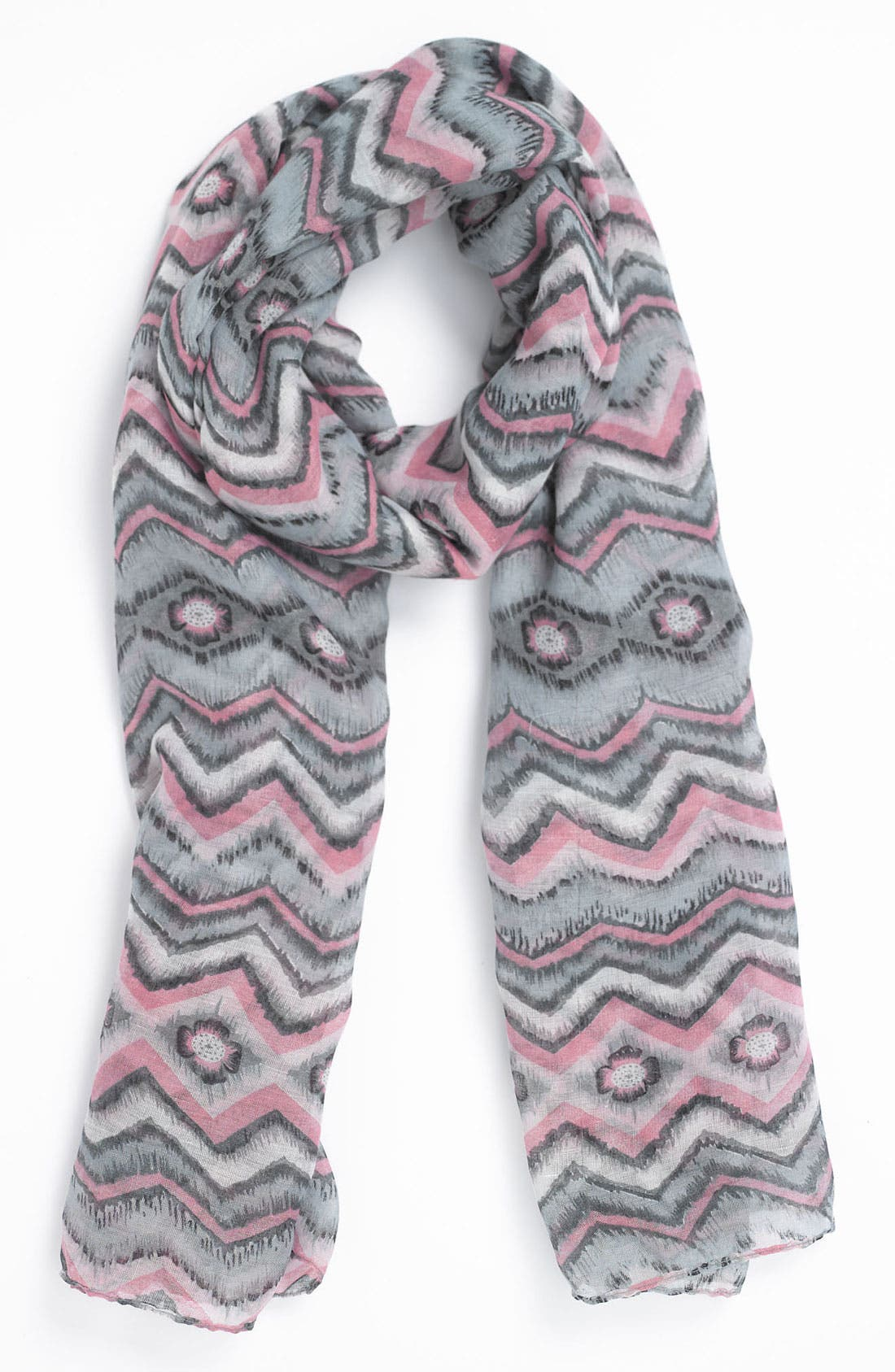 Alternate Image 1 Selected - Tarnish Colorful Ikat Scarf